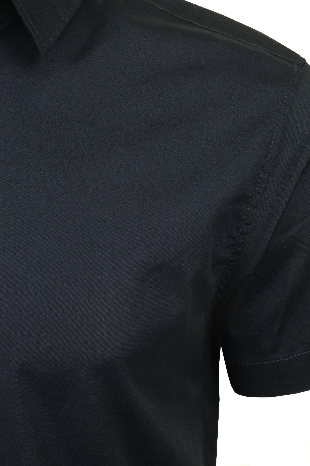 Jack-amp-Jones-Mens-039-Clint-039-Poplin-Shirt-Short-Sleeved thumbnail 10