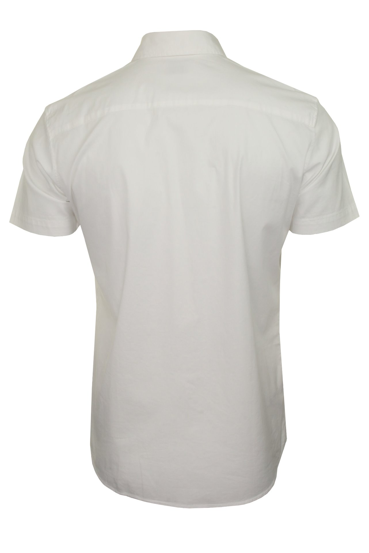Jack-amp-Jones-Mens-039-Clint-039-Poplin-Shirt-Short-Sleeved thumbnail 14