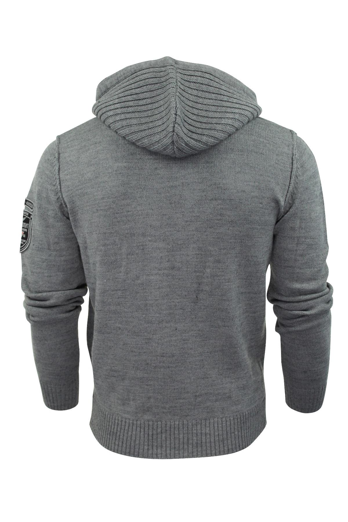 Mens Cardigan Jumper Dissident 'Cruise' Wool Mix Knit | eBay
