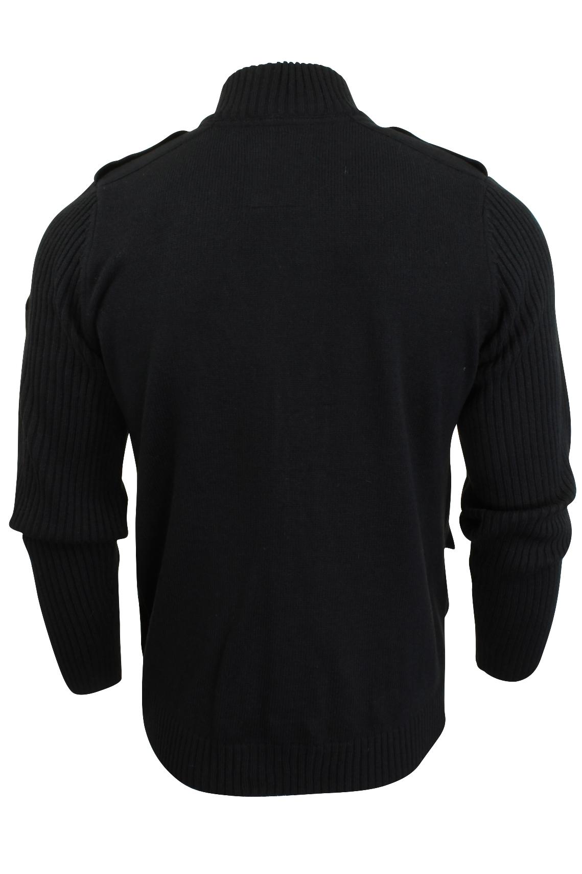 gilet pull m lange de laine style militaire par tokyo laundry pour homme ebay. Black Bedroom Furniture Sets. Home Design Ideas