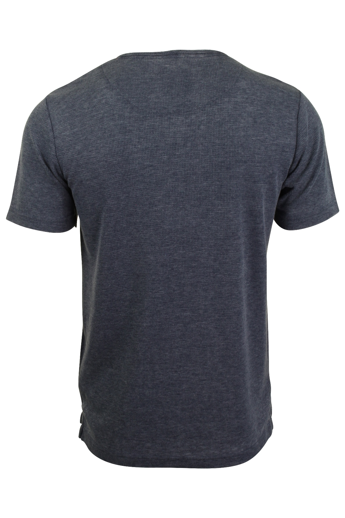 Mens-Tokyo-Laundry-Grandad-T-Shirt-Waffle-Burn-Out-Fabric thumbnail 8
