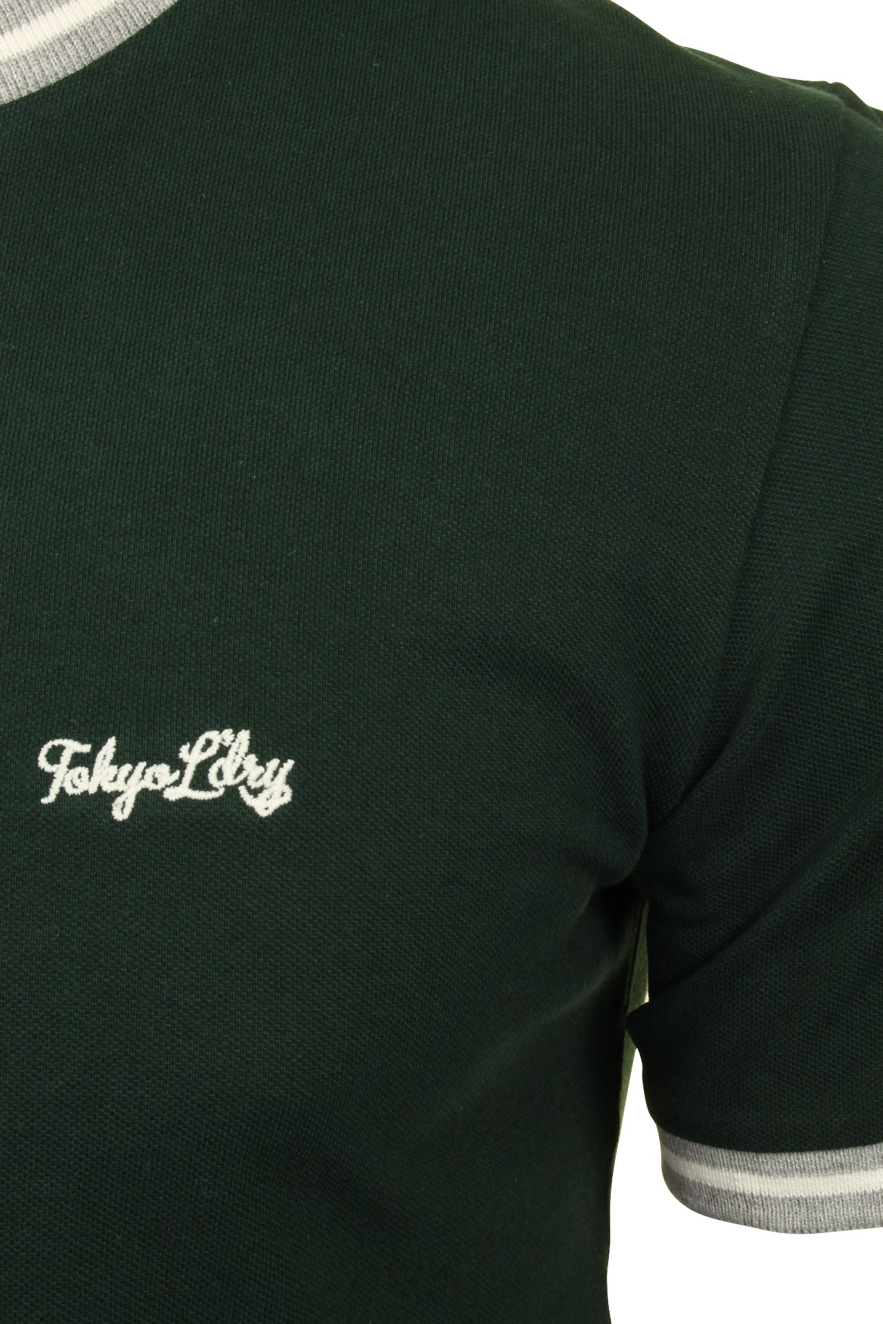 Tokyo-Laundry-Mens-Pique-Crew-Neck-T-Shirt-039-Wentworth-039 thumbnail 10