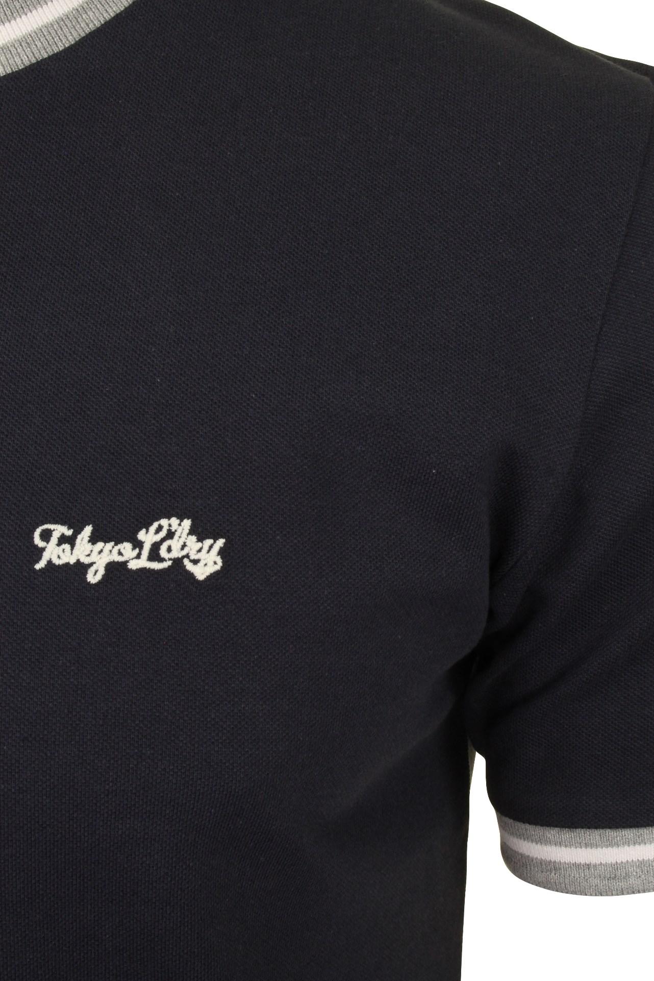 Tokyo-Laundry-Mens-Pique-Crew-Neck-T-Shirt-039-Wentworth-039 thumbnail 7