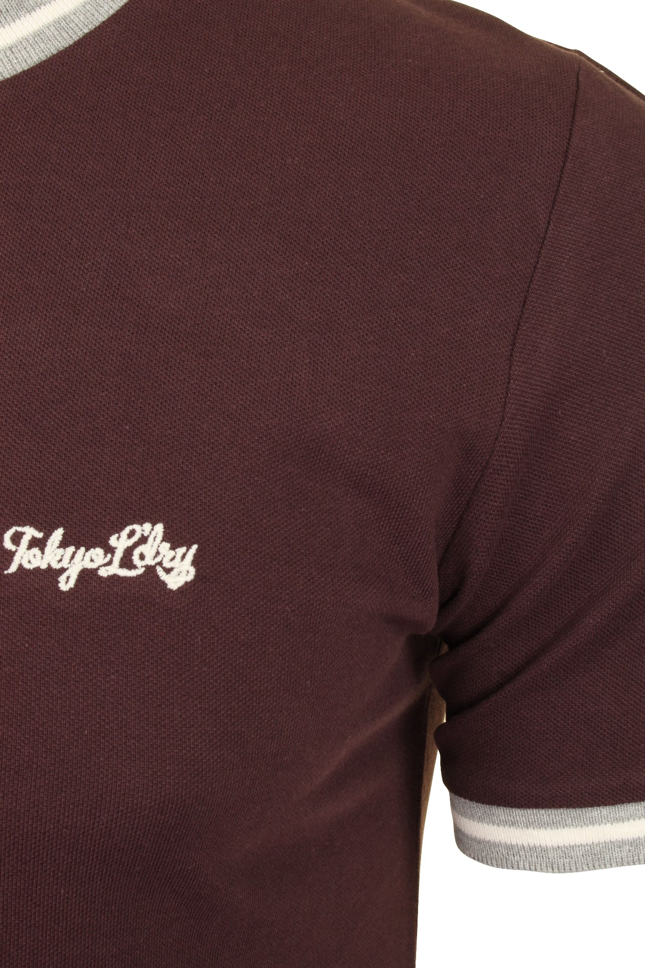 Tokyo-Laundry-Mens-Pique-Crew-Neck-T-Shirt-039-Wentworth-039 thumbnail 13