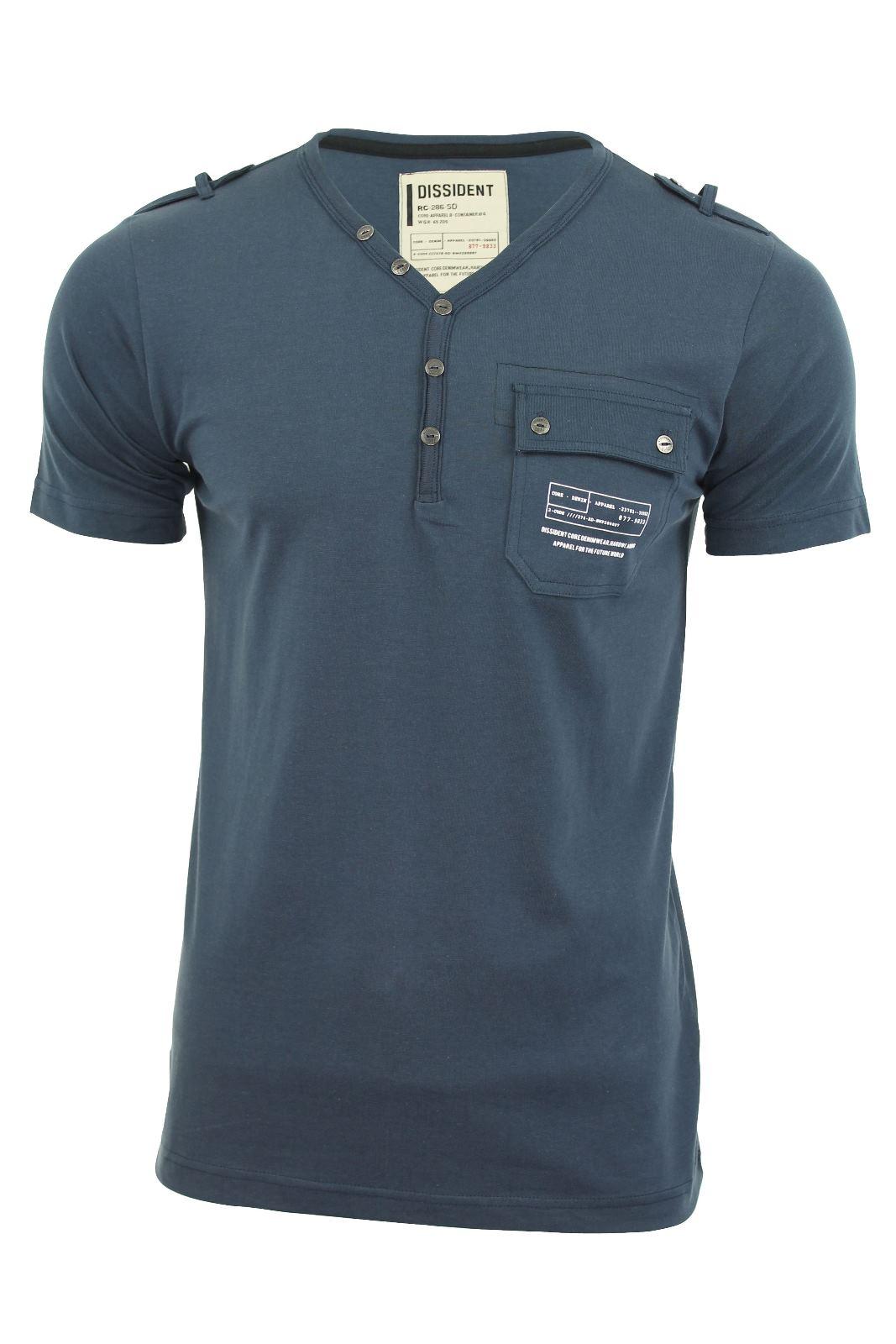Dissident-Mens-T-Shirt-039-Fender-039-Short-Sleeved