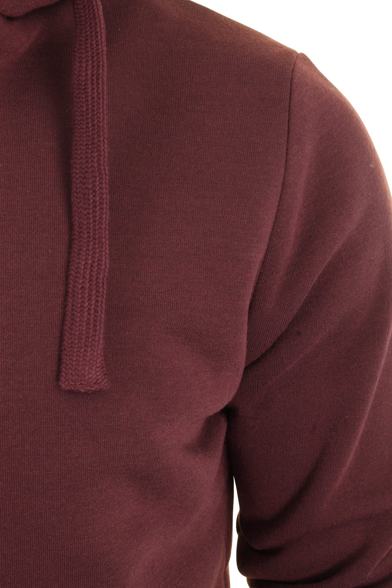 Mens-Dissident-Hoodie-039-Bolo-2-039-Fleece-Lined-Hood-amp-Body thumbnail 13