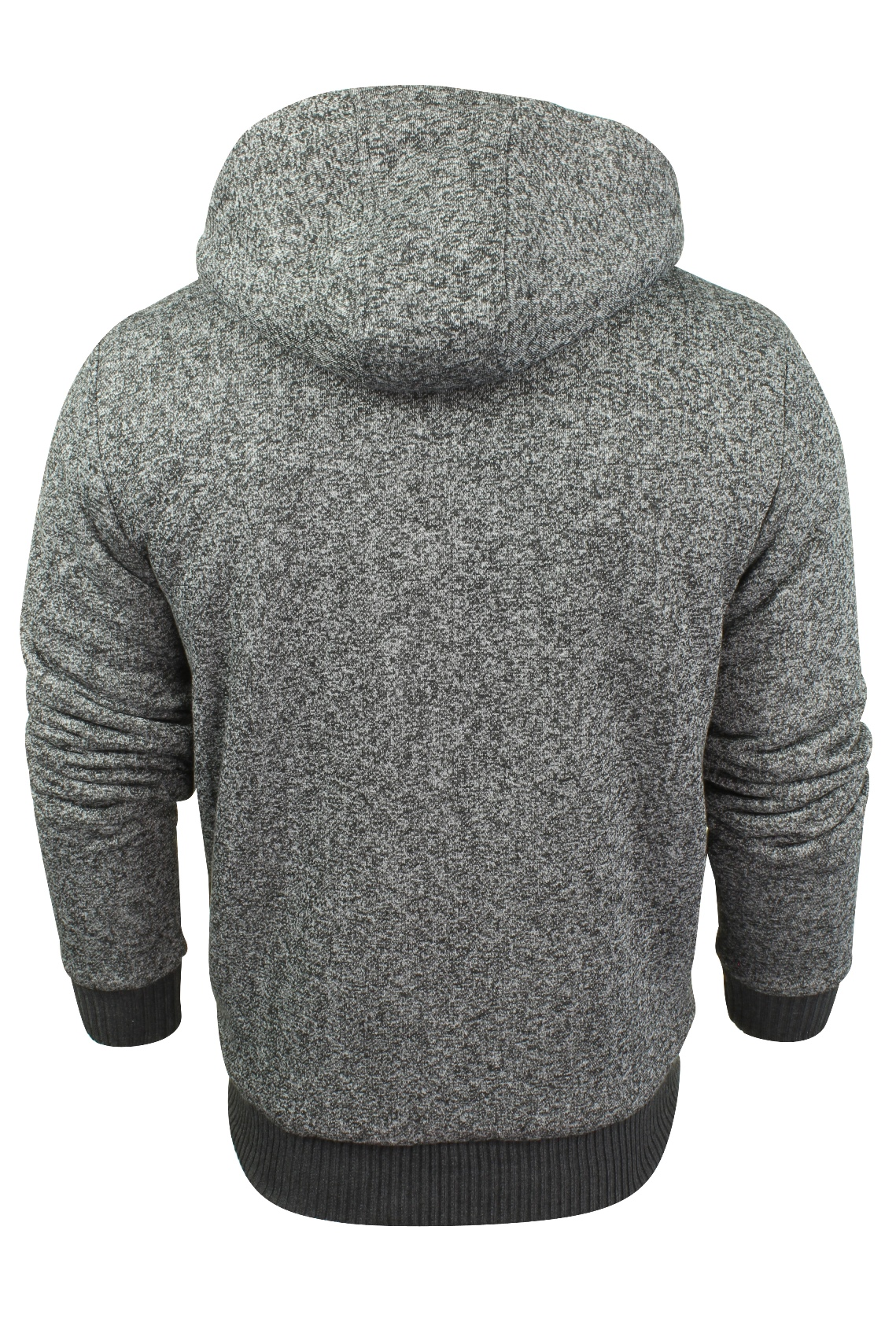 Mens-Dissident-Hoodie-Sweatshirt-Jumper-Jacket-039-Toulouse-039-Sherpa-Fleece-Lined thumbnail 16