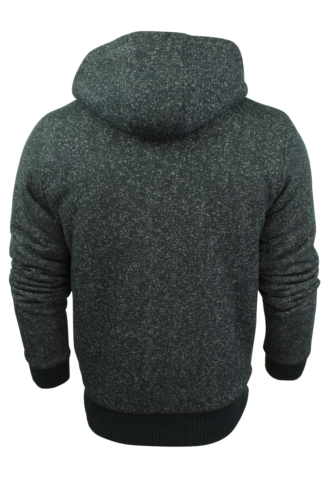 Mens-Dissident-Hoodie-Sweatshirt-Jumper-Jacket-039-Toulouse-039-Sherpa-Fleece-Lined thumbnail 25