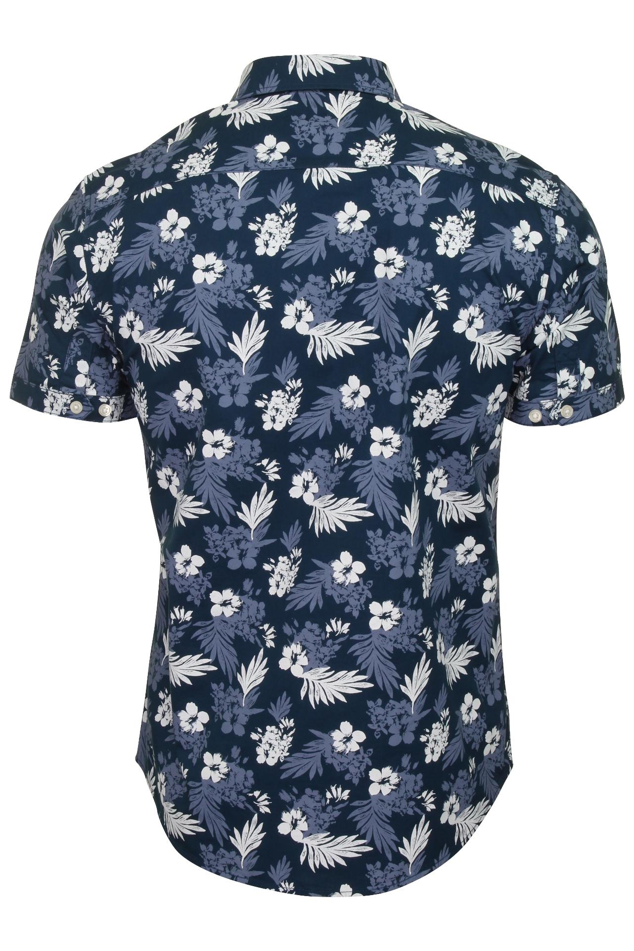Tokyo-Laundry-Mens-039-Fermont-039-Hawaiian-Floral-Shirt-Short-Sleeved thumbnail 4
