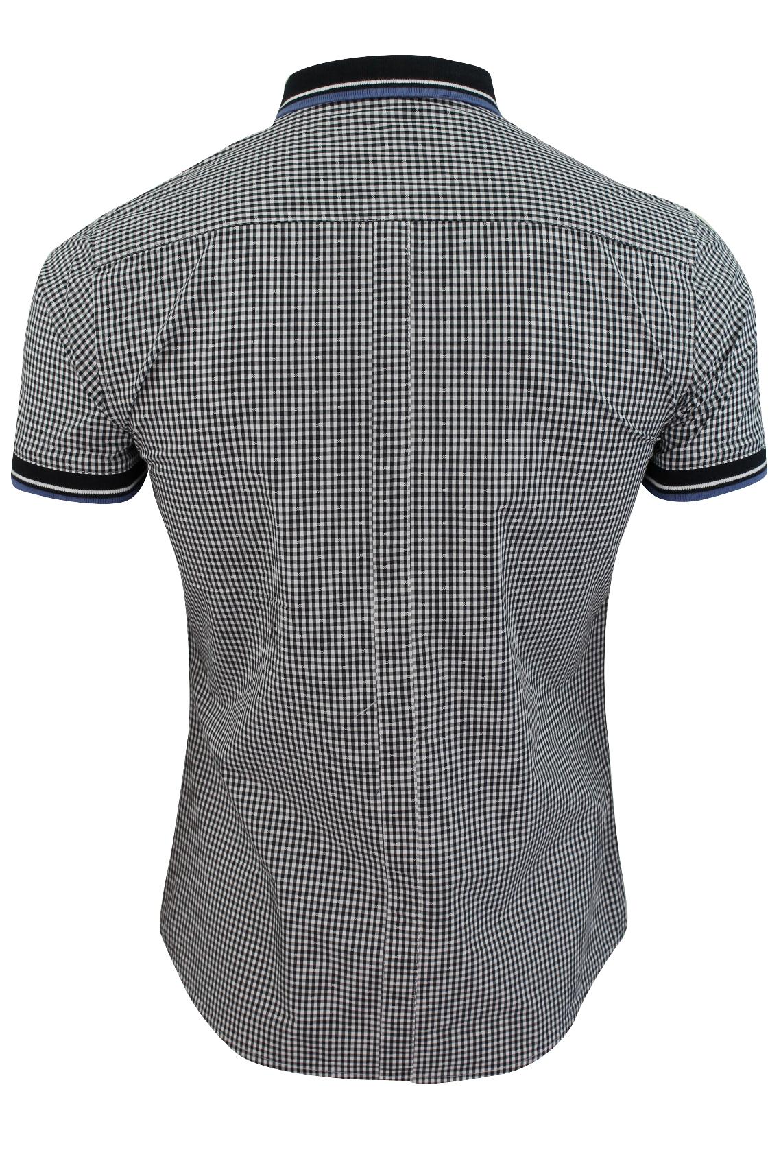 Mens-Shirt-by-Le-Shark-039-Bohemian-039-Gingham-Check thumbnail 8