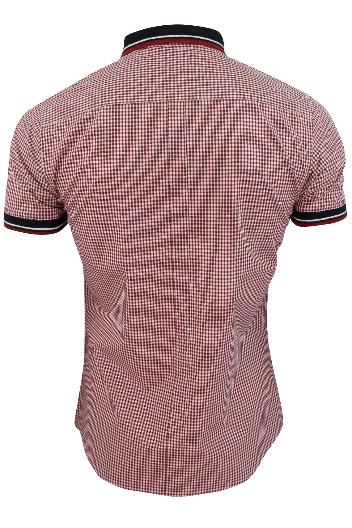 Mens-Shirt-by-Le-Shark-039-Bohemian-039-Gingham-Check thumbnail 5
