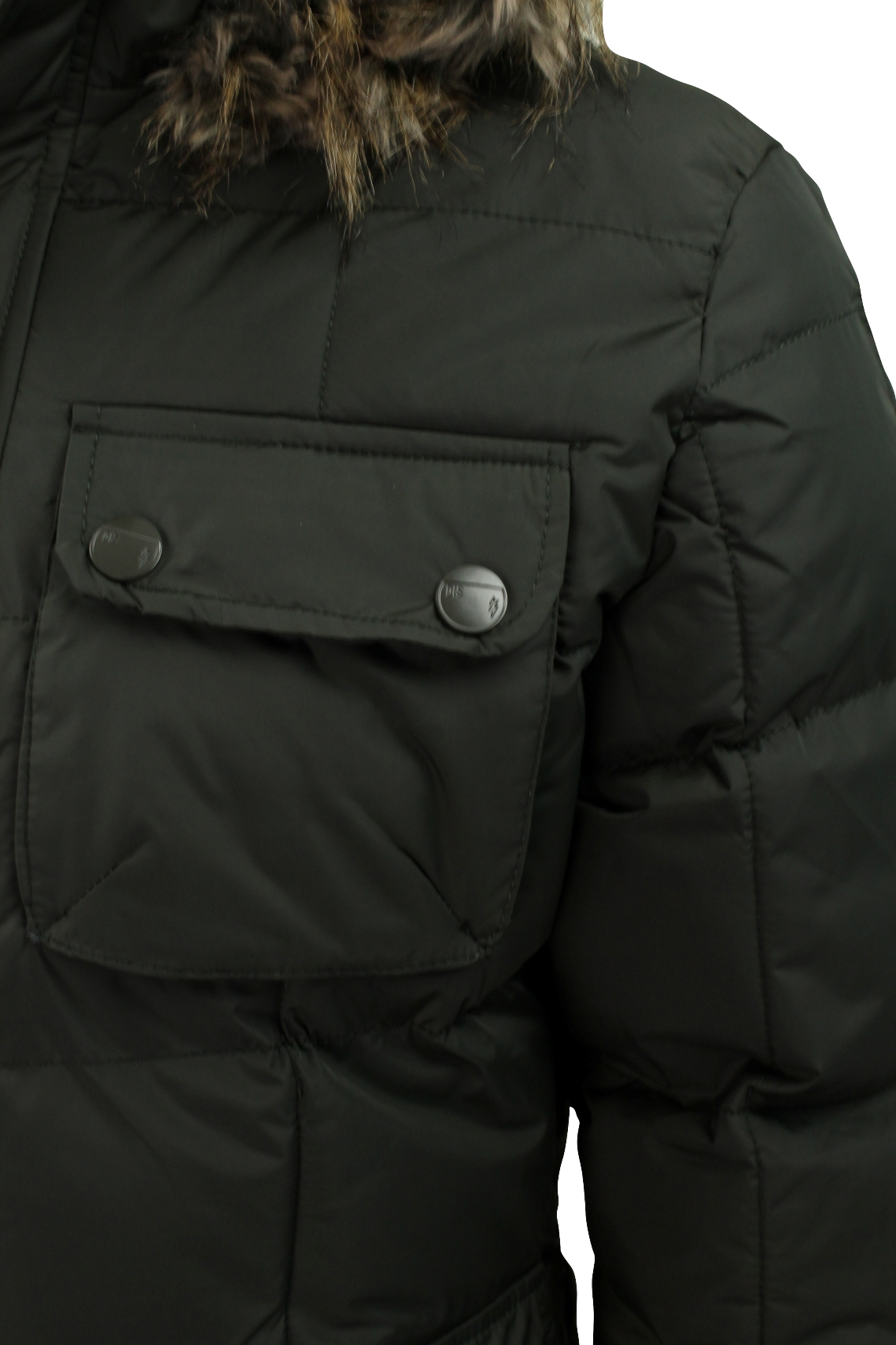 By Dissident Cost Mens Parka Thunder Quilted Jacket 'picton' xqwXI1Z