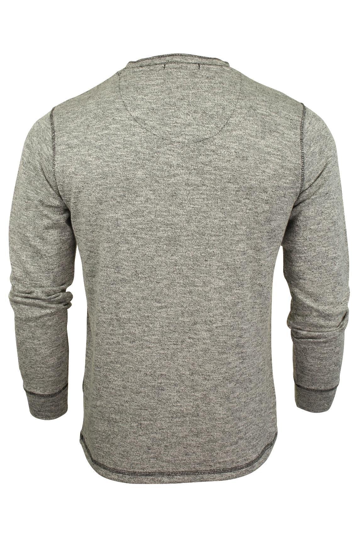 Mens-Long-Sleeve-Grandad-T-Shirt-by-Tokyo-Laundry-039-Roosevelt-039-Siro-Slub-Jersey thumbnail 8