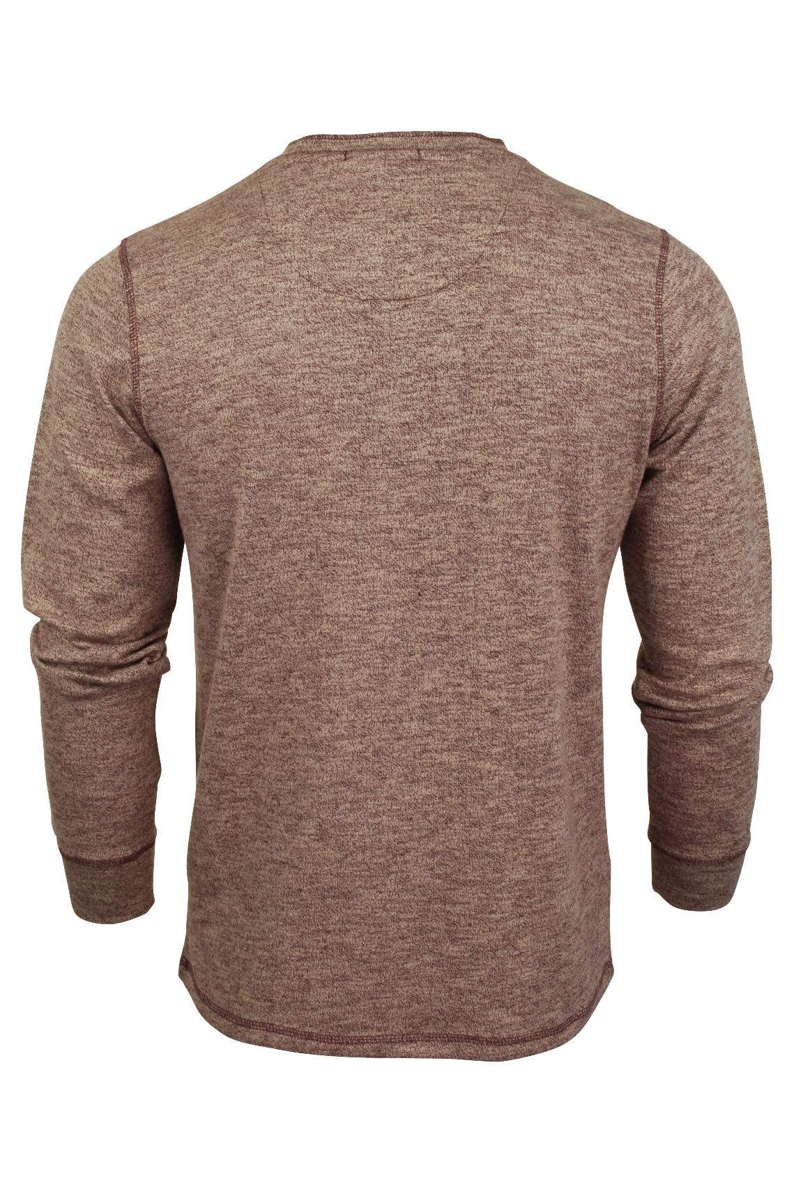 Mens-Long-Sleeve-Grandad-T-Shirt-by-Tokyo-Laundry-039-Roosevelt-039-Siro-Slub-Jersey thumbnail 11