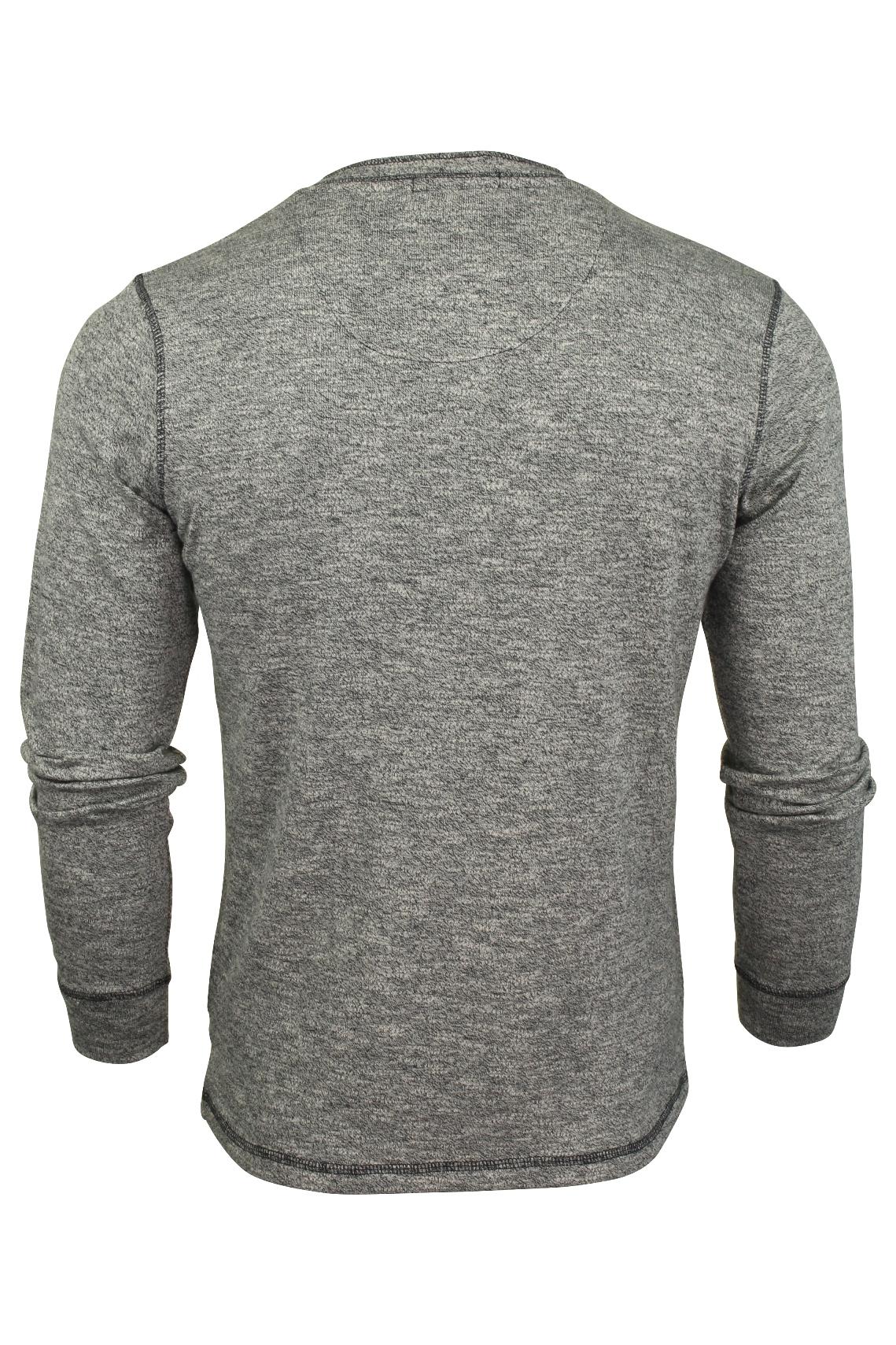 Mens-Long-Sleeve-Grandad-T-Shirt-by-Tokyo-Laundry-039-Roosevelt-039-Siro-Slub-Jersey thumbnail 5