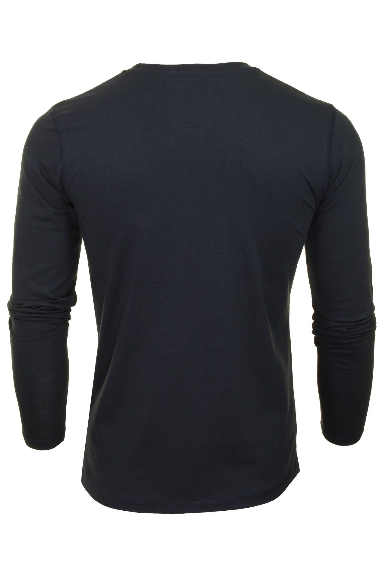 Mens-Tokyo-Laundry-Long-Sleeved-T-Shirt thumbnail 4