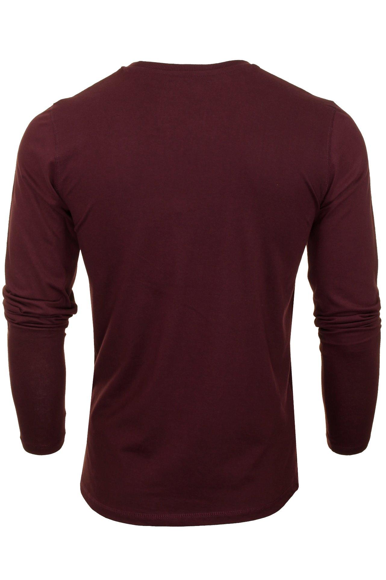 Mens-Tokyo-Laundry-Long-Sleeved-T-Shirt thumbnail 8