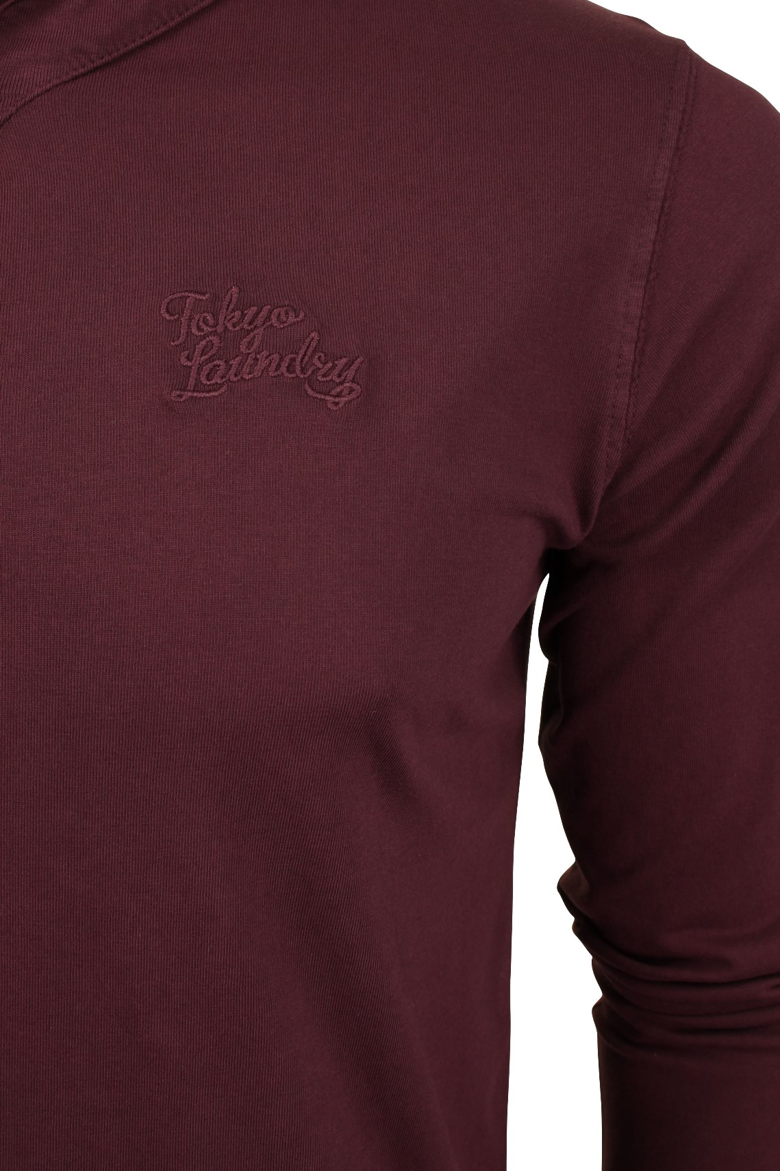 Mens-Grandad-T-Shirt-by-Tokyo-Laundry-039-Winter-Pines-039-Long-Sleeved thumbnail 10