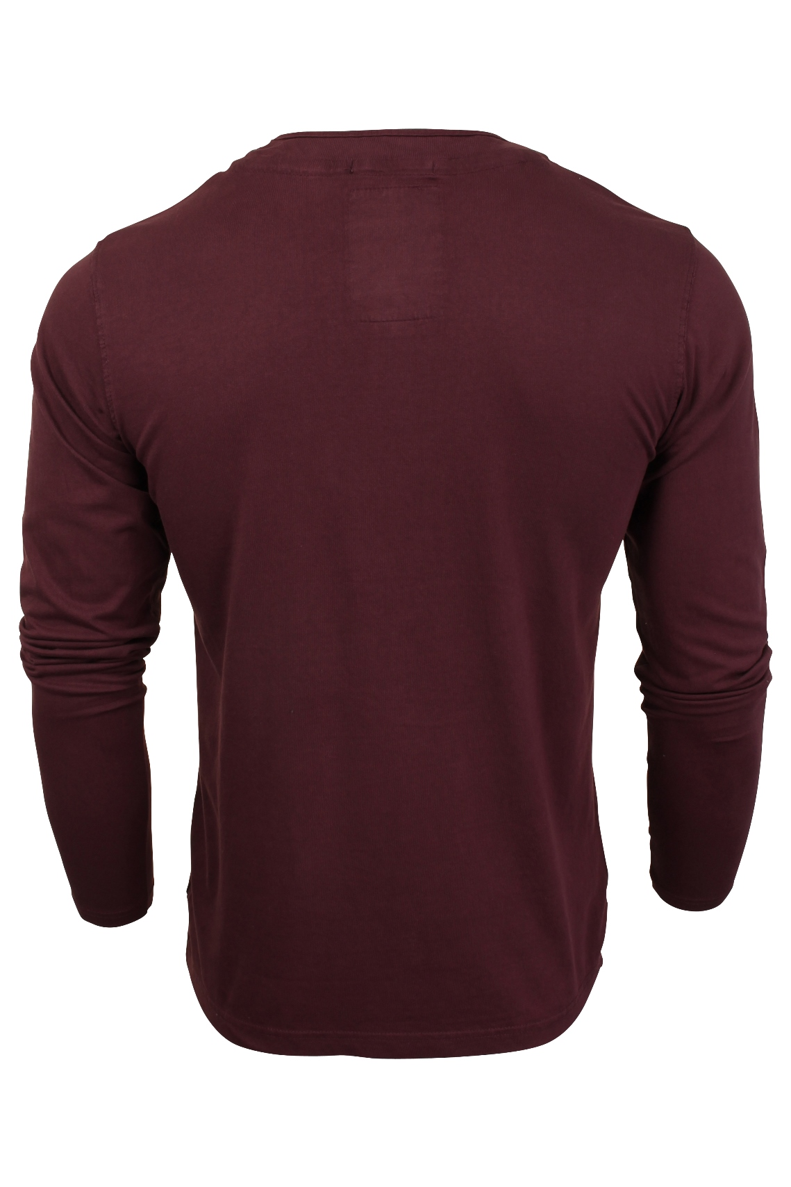 Mens-Grandad-T-Shirt-by-Tokyo-Laundry-039-Winter-Pines-039-Long-Sleeved thumbnail 11