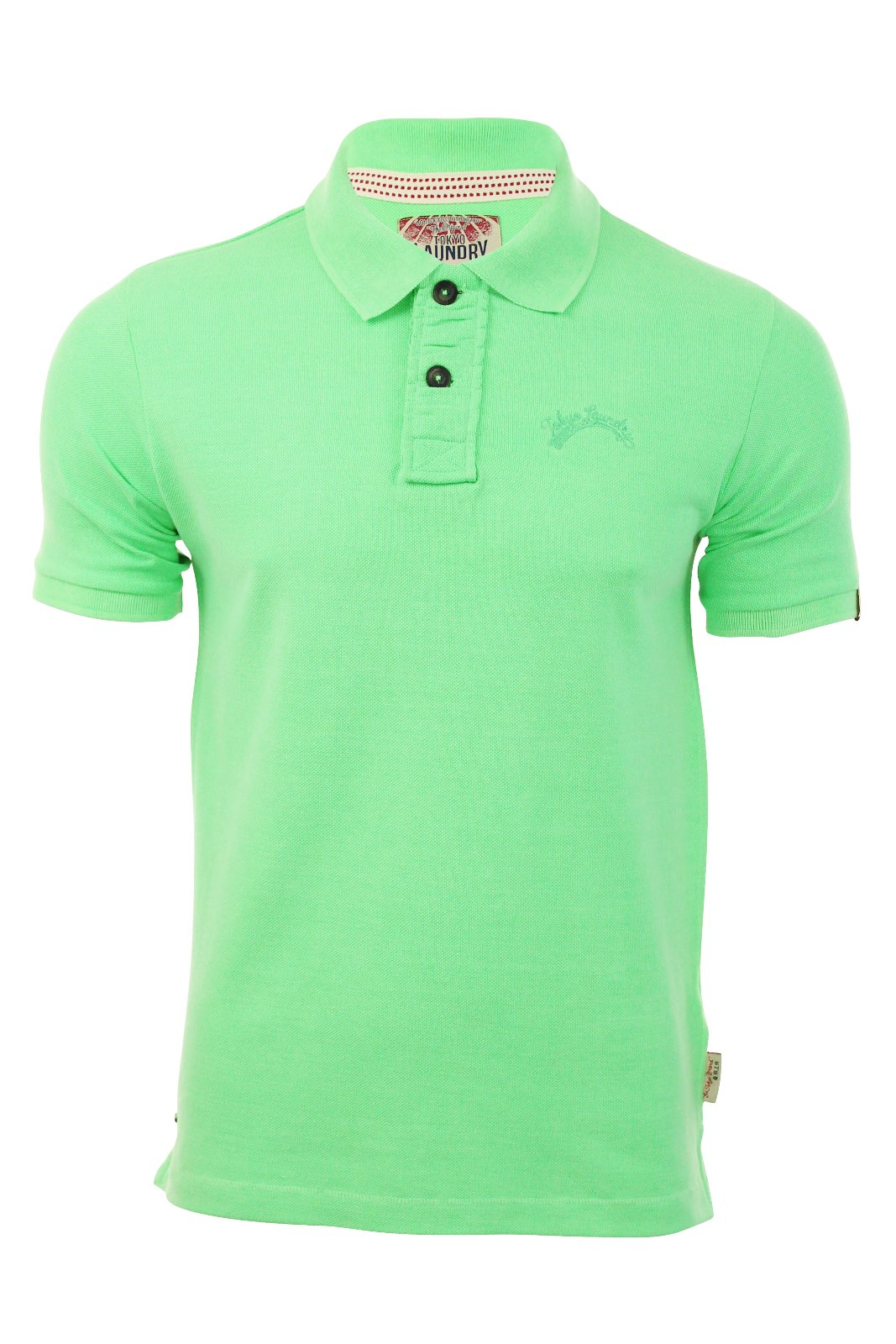 Polos à manches courtes Tokyo laundry turquoise homme 2HxuXyaZjV