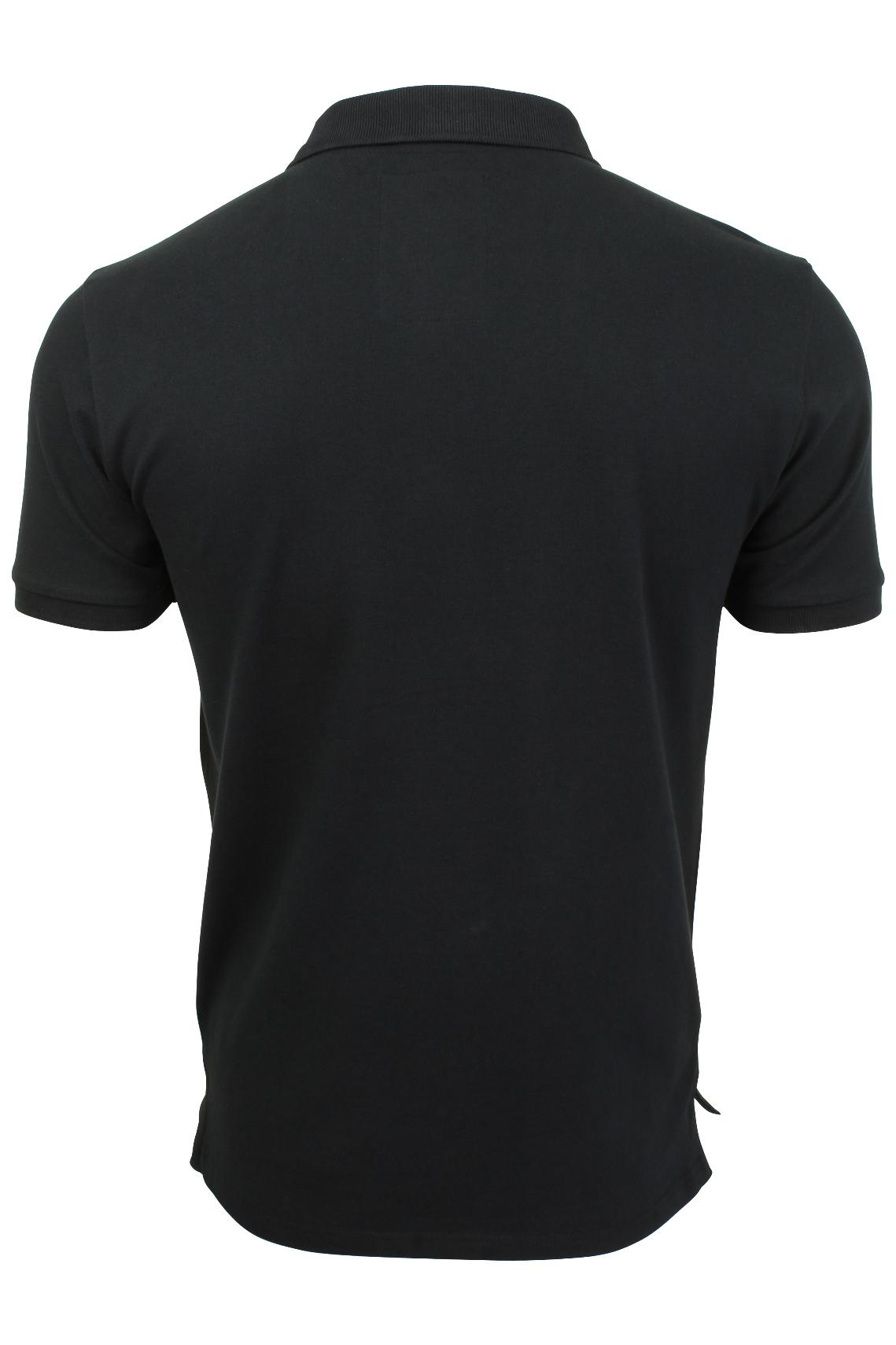 Da-Uomo-Polo-in-pique-da-Tokyo-Laundry-039-Esko-MOLLE-039-s-a-maniche-corte