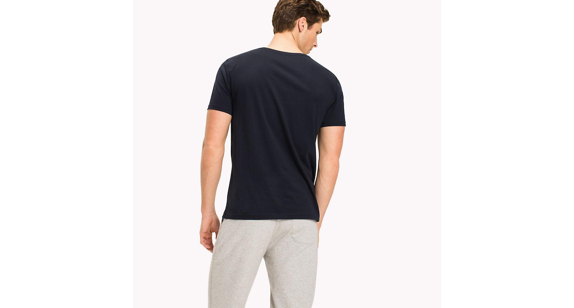 Tommy-Hilfiger-Para-Hombre-Camiseta-de-manga-corta-icono-034-034 miniatura 4