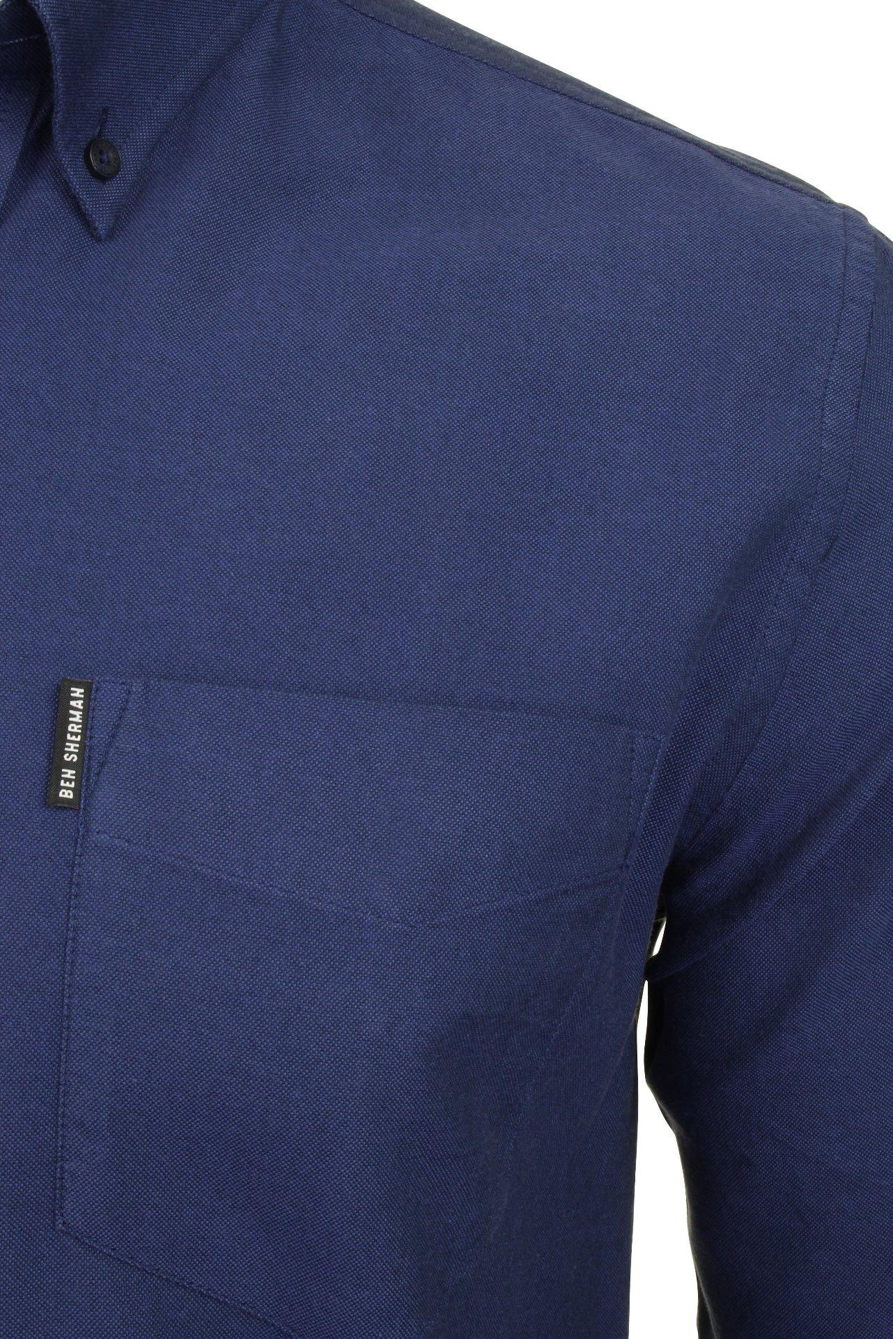 Ben-Sherman-Long-Sleeved-039-Oxford-039-Shirt thumbnail 10