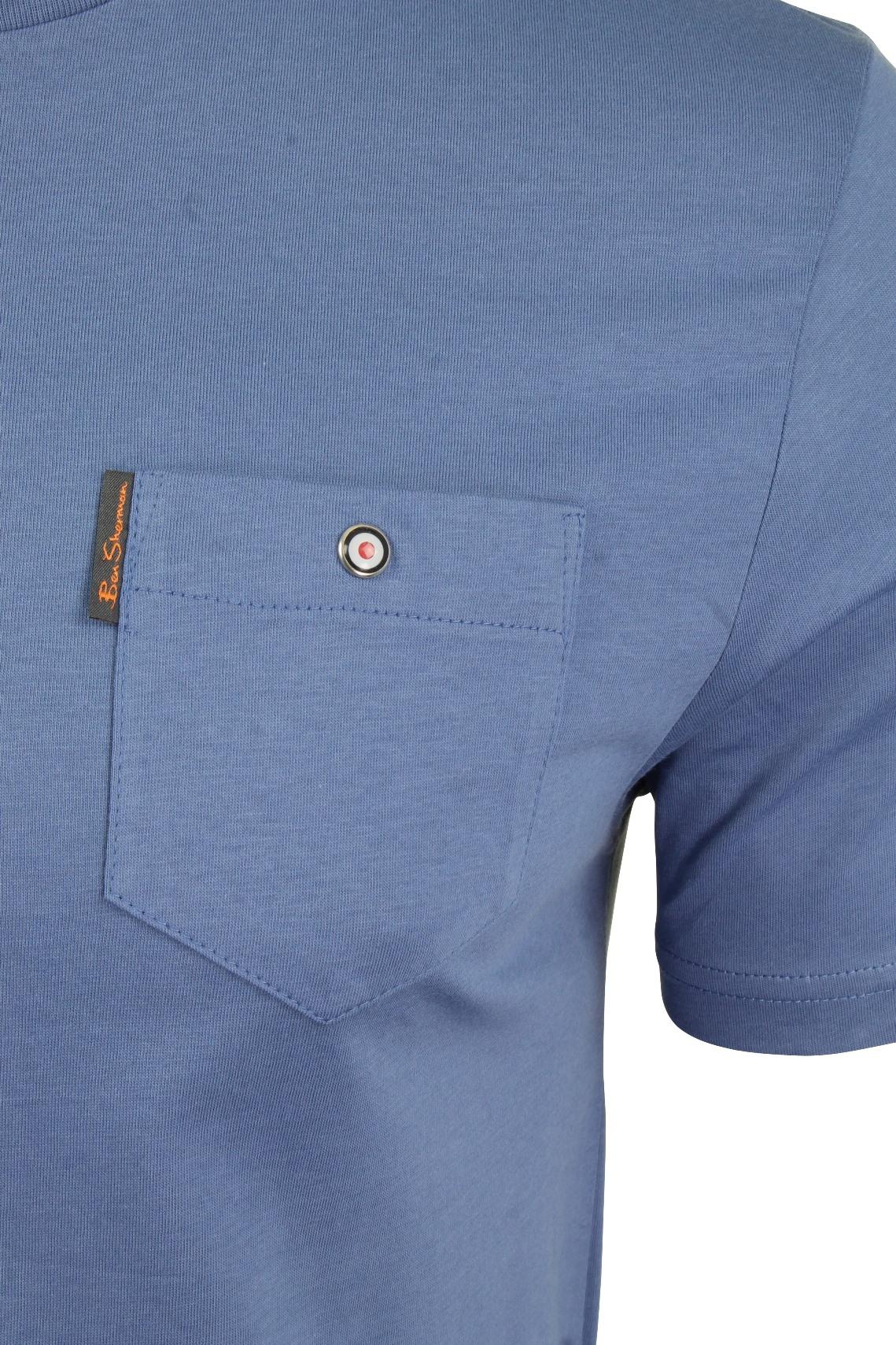 Para-Hombre-Clasico-Pala-Bolsillo-Camiseta-Por-Ben-Sherman miniatura 21
