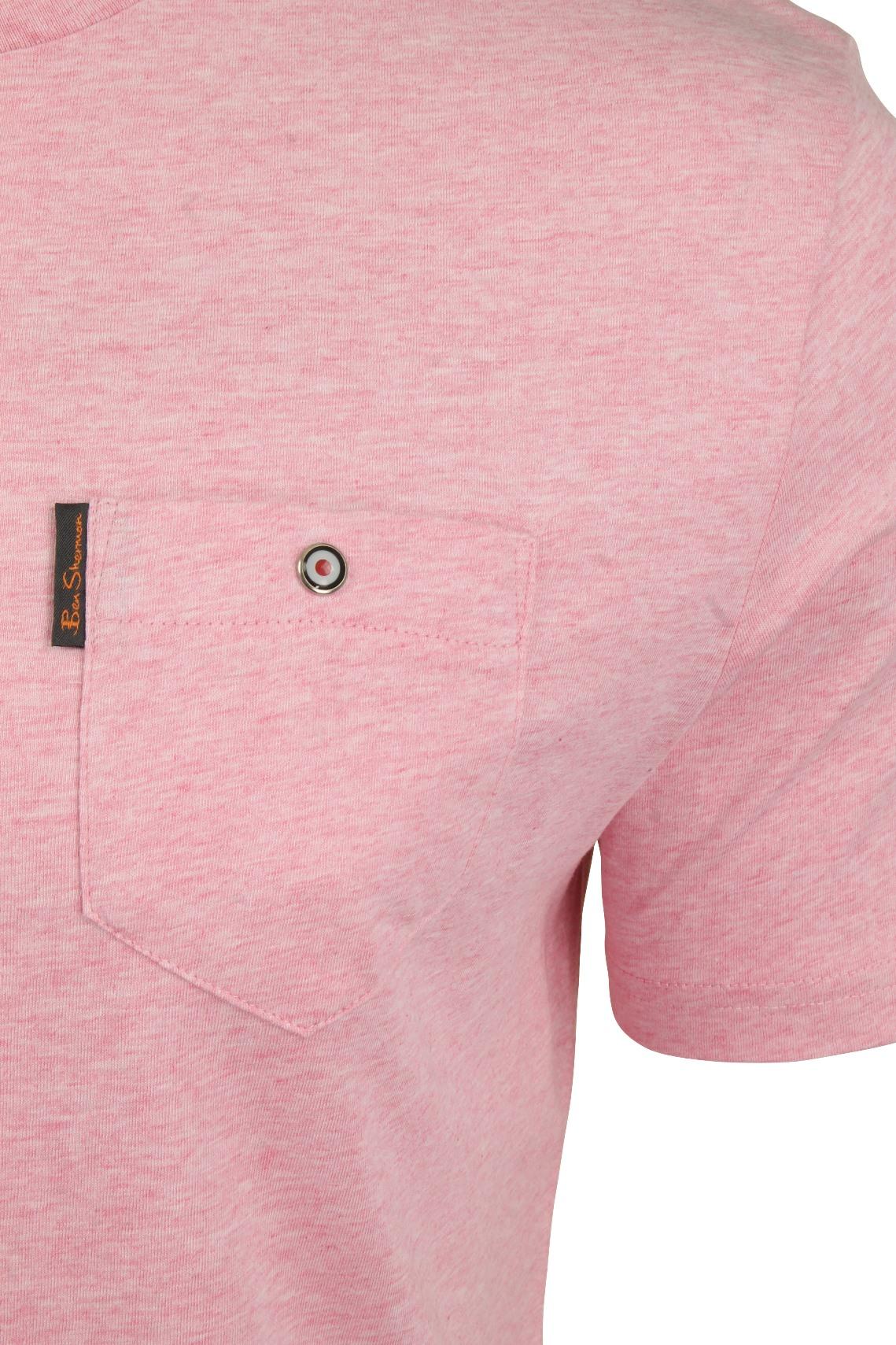 Para-Hombre-Clasico-Pala-Bolsillo-Camiseta-Por-Ben-Sherman miniatura 30