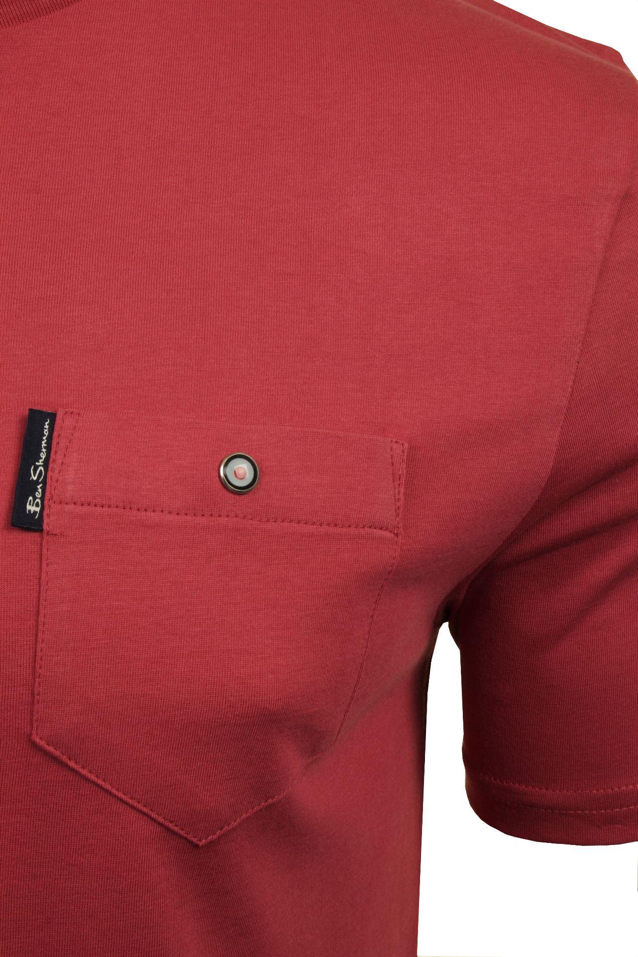Para-Hombre-Clasico-Pala-Bolsillo-Camiseta-Por-Ben-Sherman miniatura 33