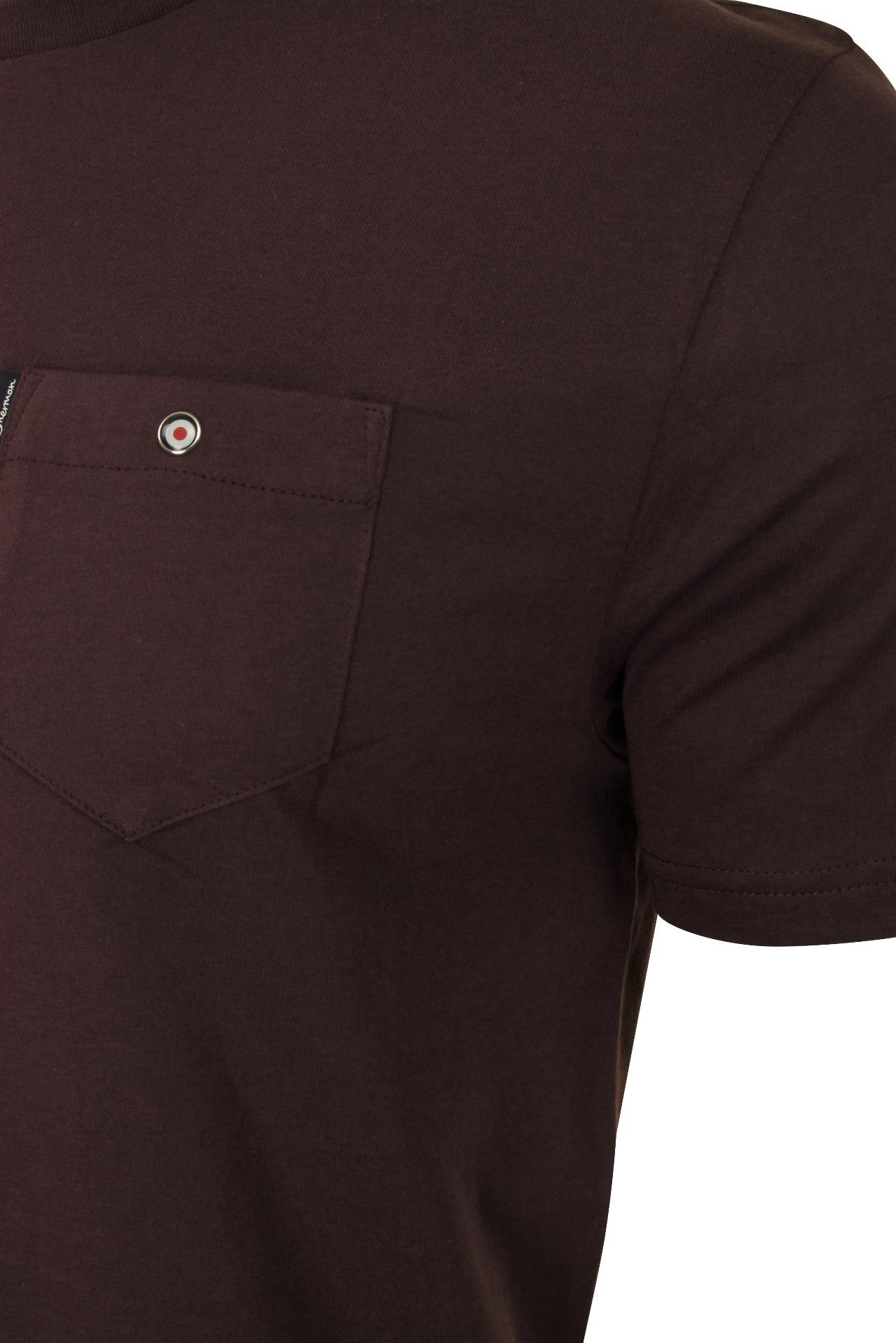 Para-Hombre-Clasico-Pala-Bolsillo-Camiseta-Por-Ben-Sherman miniatura 12