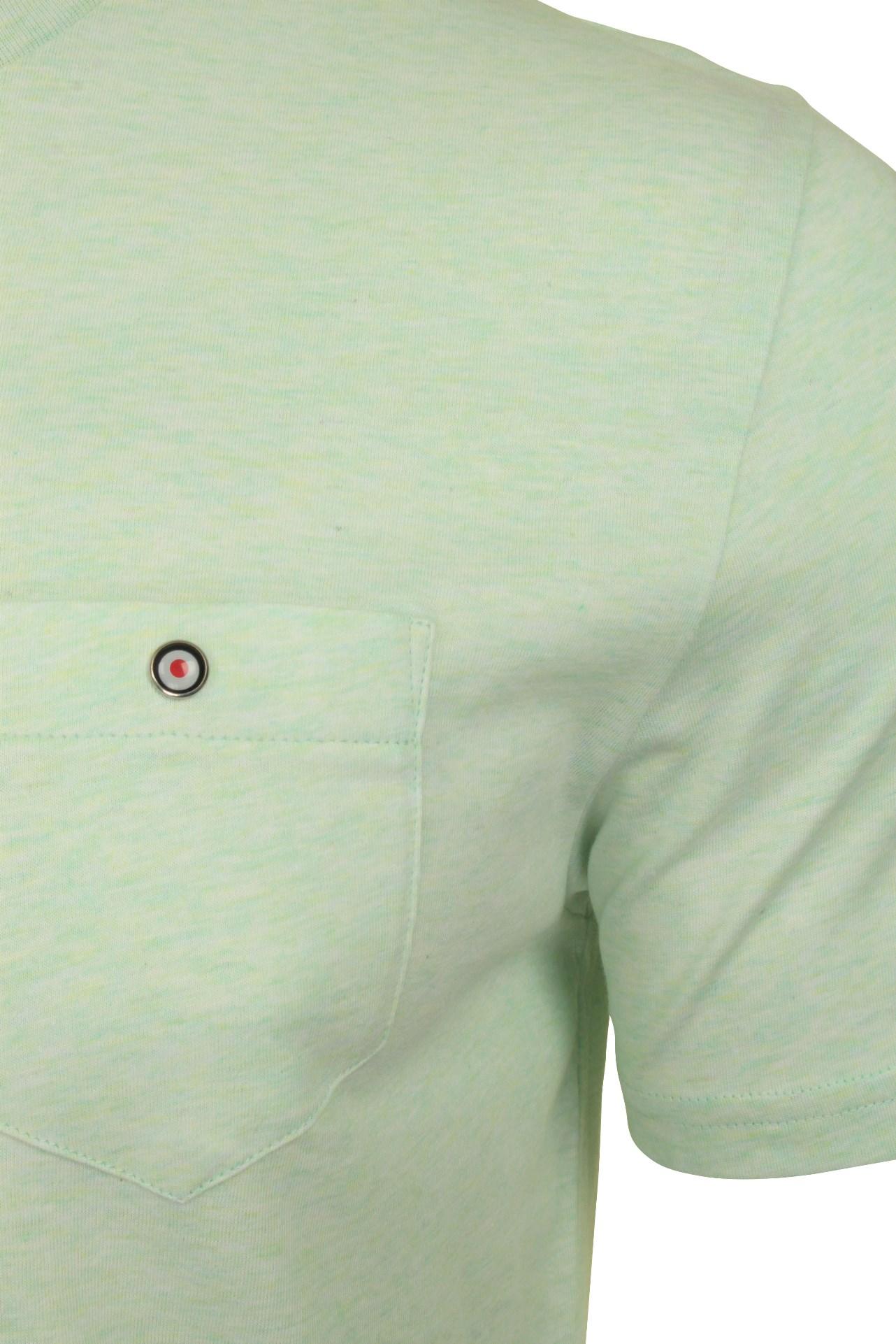 Para-Hombre-Clasico-Pala-Bolsillo-Camiseta-Por-Ben-Sherman miniatura 24