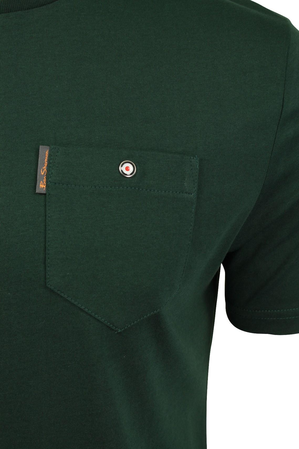 Para-Hombre-Clasico-Pala-Bolsillo-Camiseta-Por-Ben-Sherman miniatura 18