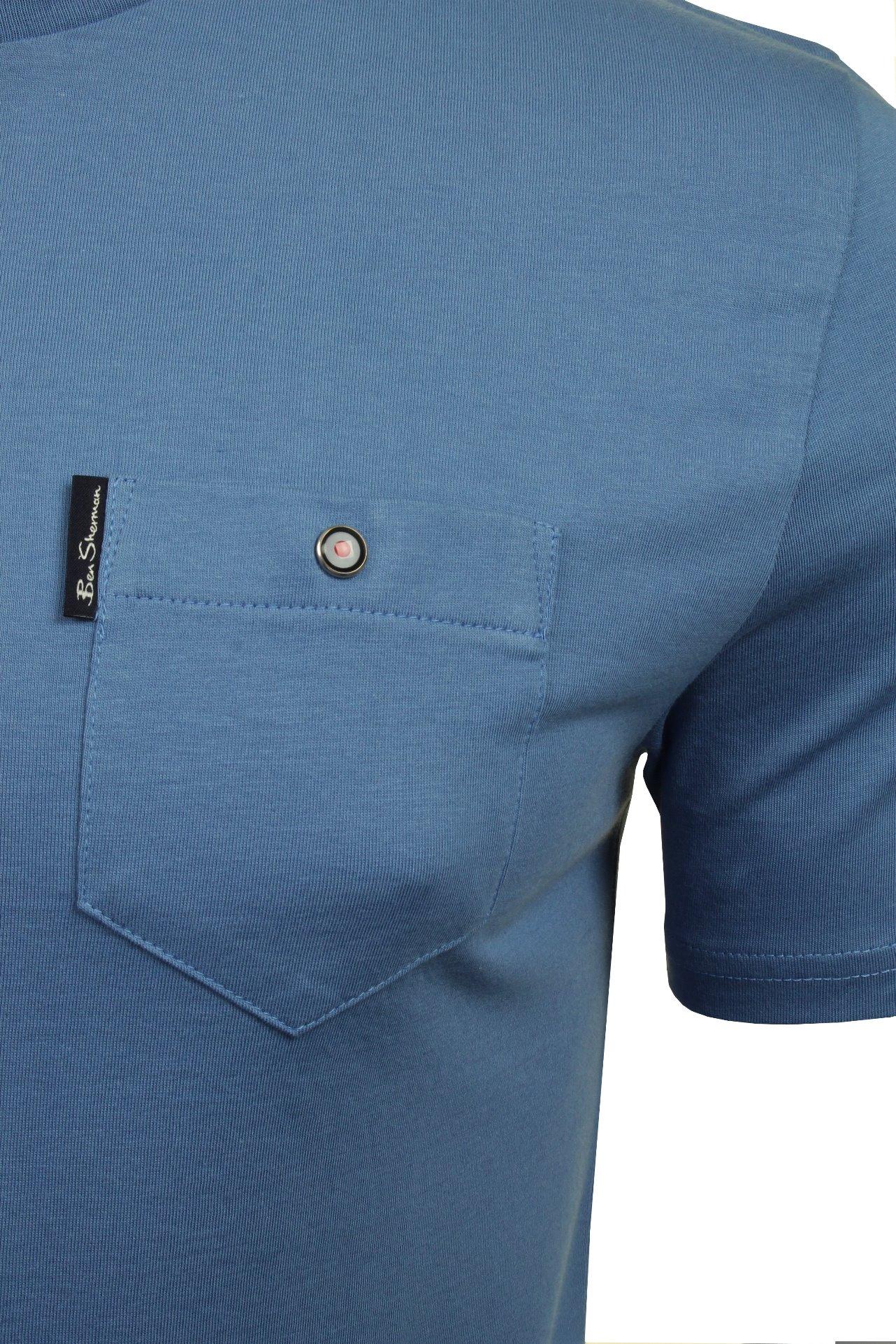 Para-Hombre-Clasico-Pala-Bolsillo-Camiseta-Por-Ben-Sherman miniatura 15