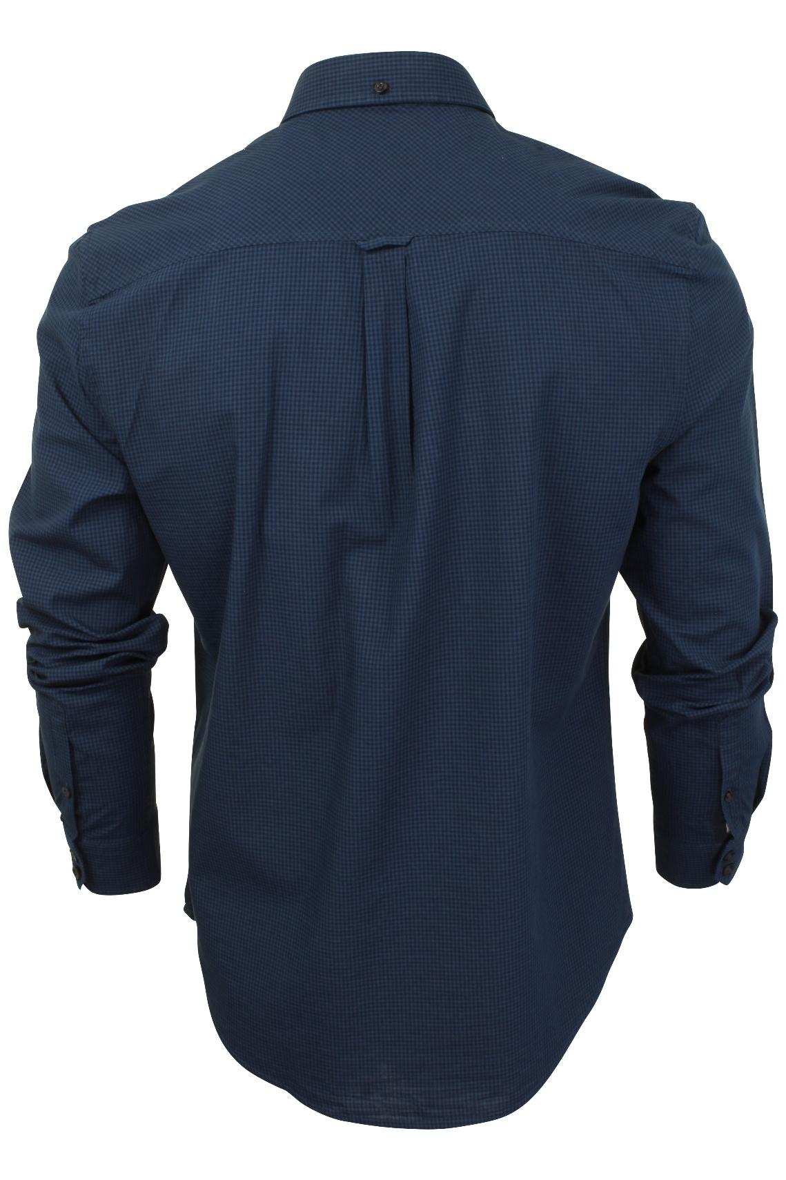 Mens-Classic-Gingham-Shirt-by-Ben-Sherman-Long-Sleeved thumbnail 8