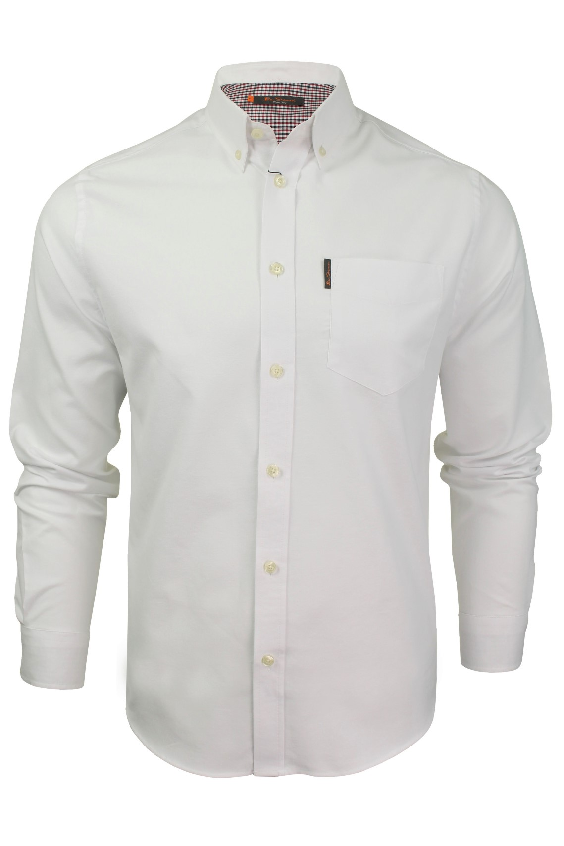 Mens-Oxford-Shirt-by-Ben-Sherman-Long-Sleeved thumbnail 21