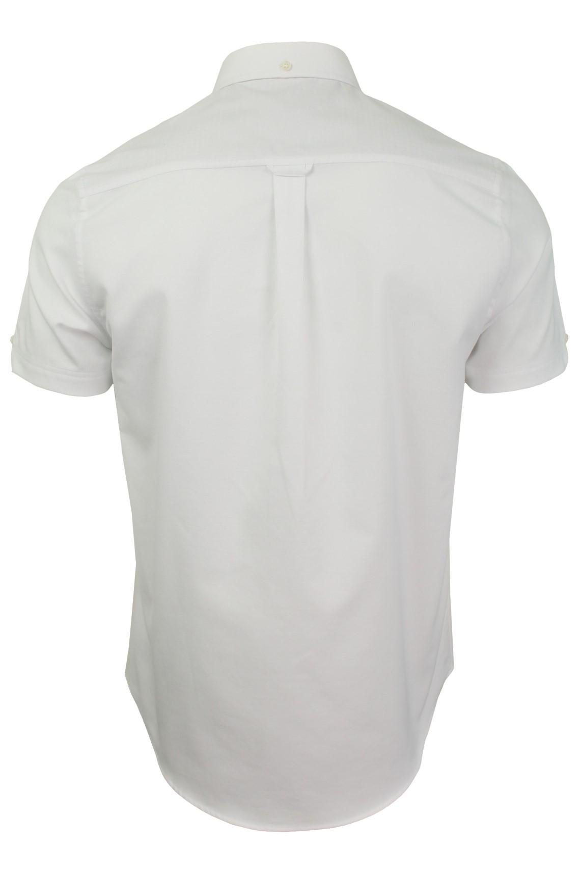 Ben-Sherman-Mens-Oxford-Shirt-Short-Sleeve thumbnail 43