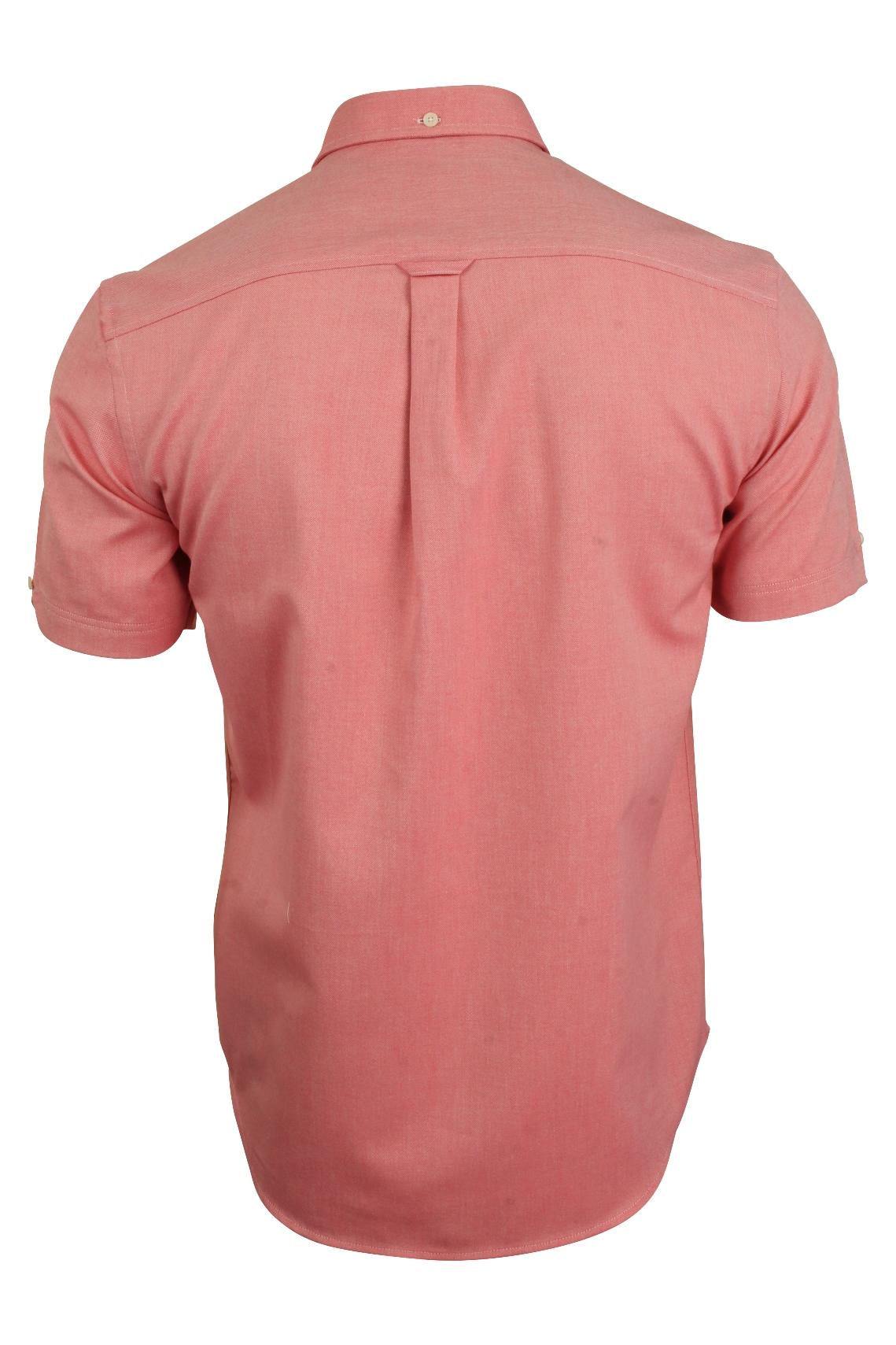 Ben-Sherman-Da-Uomo-Camicia-Oxford-Manica-Corta miniatura 15
