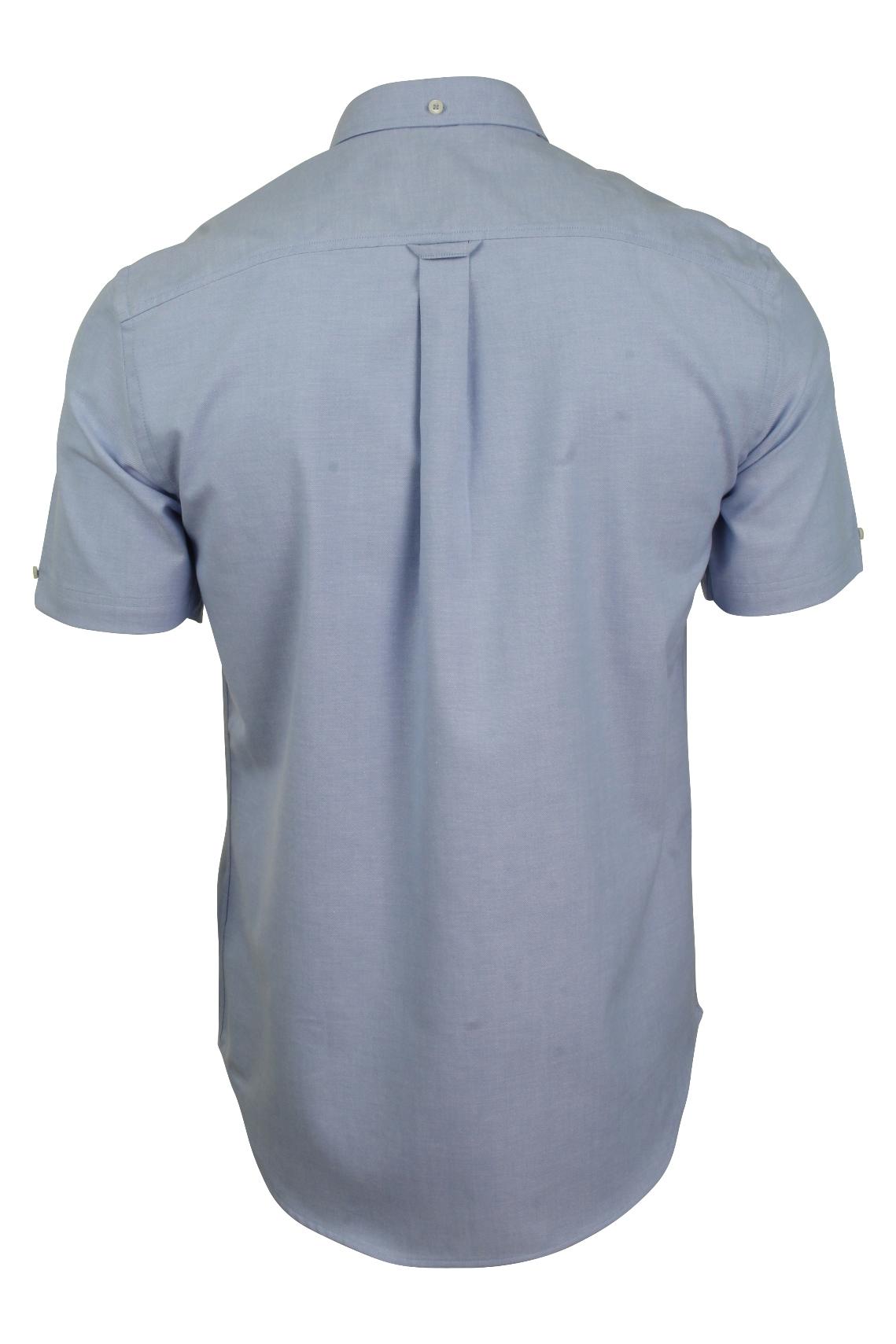 Ben-Sherman-Da-Uomo-Camicia-Oxford-Manica-Corta miniatura 26