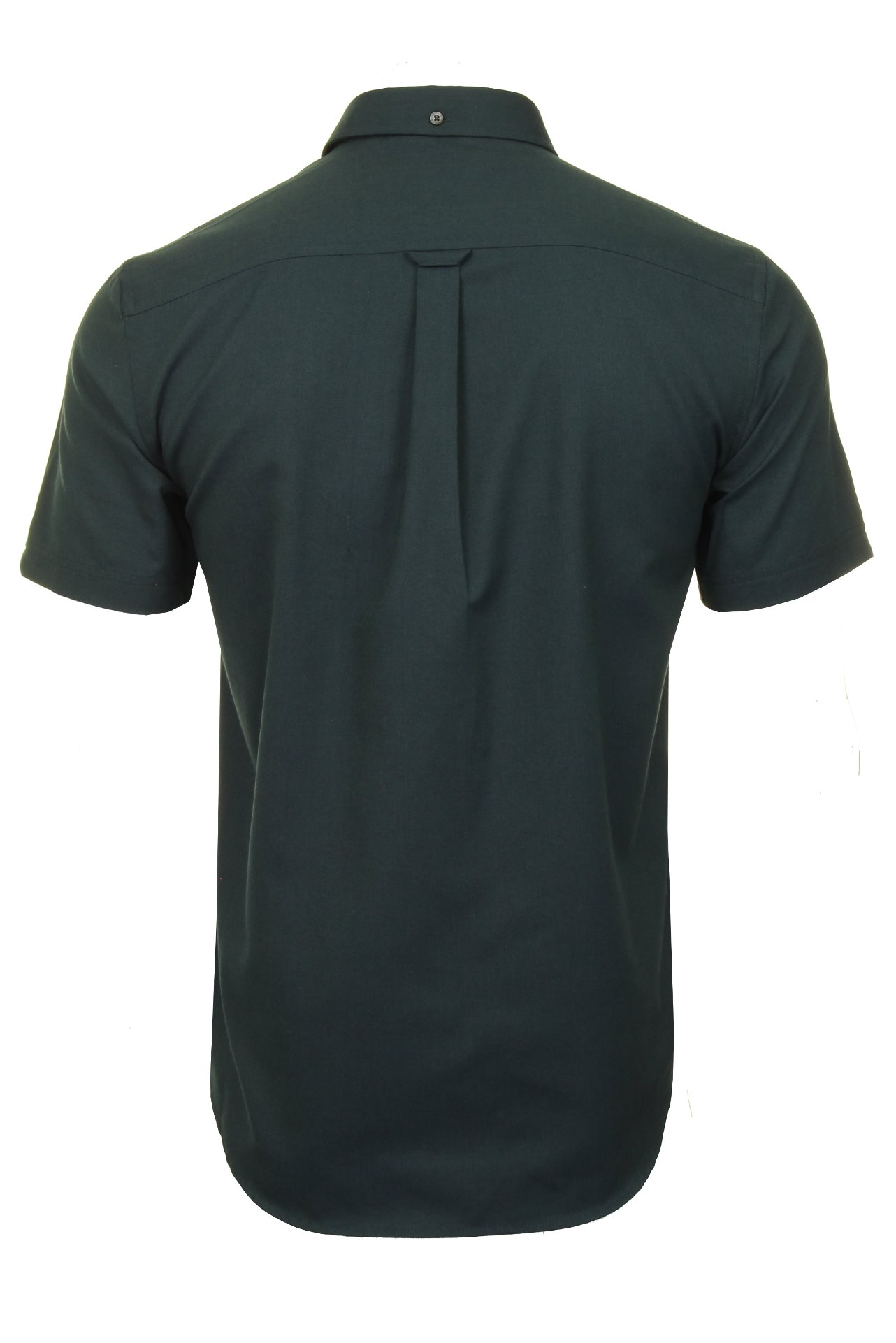 Ben-Sherman-Da-Uomo-Camicia-Oxford-Manica-Corta miniatura 40