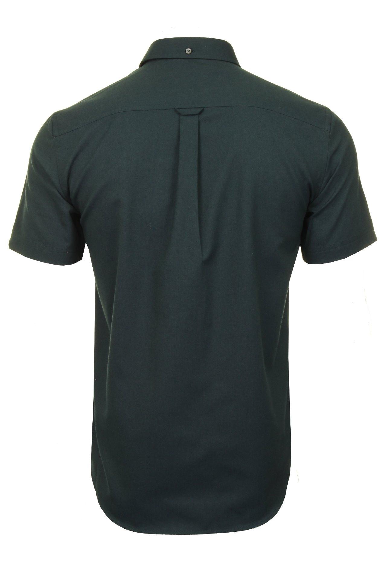 Ben-Sherman-Mens-Oxford-Shirt-Short-Sleeve thumbnail 40