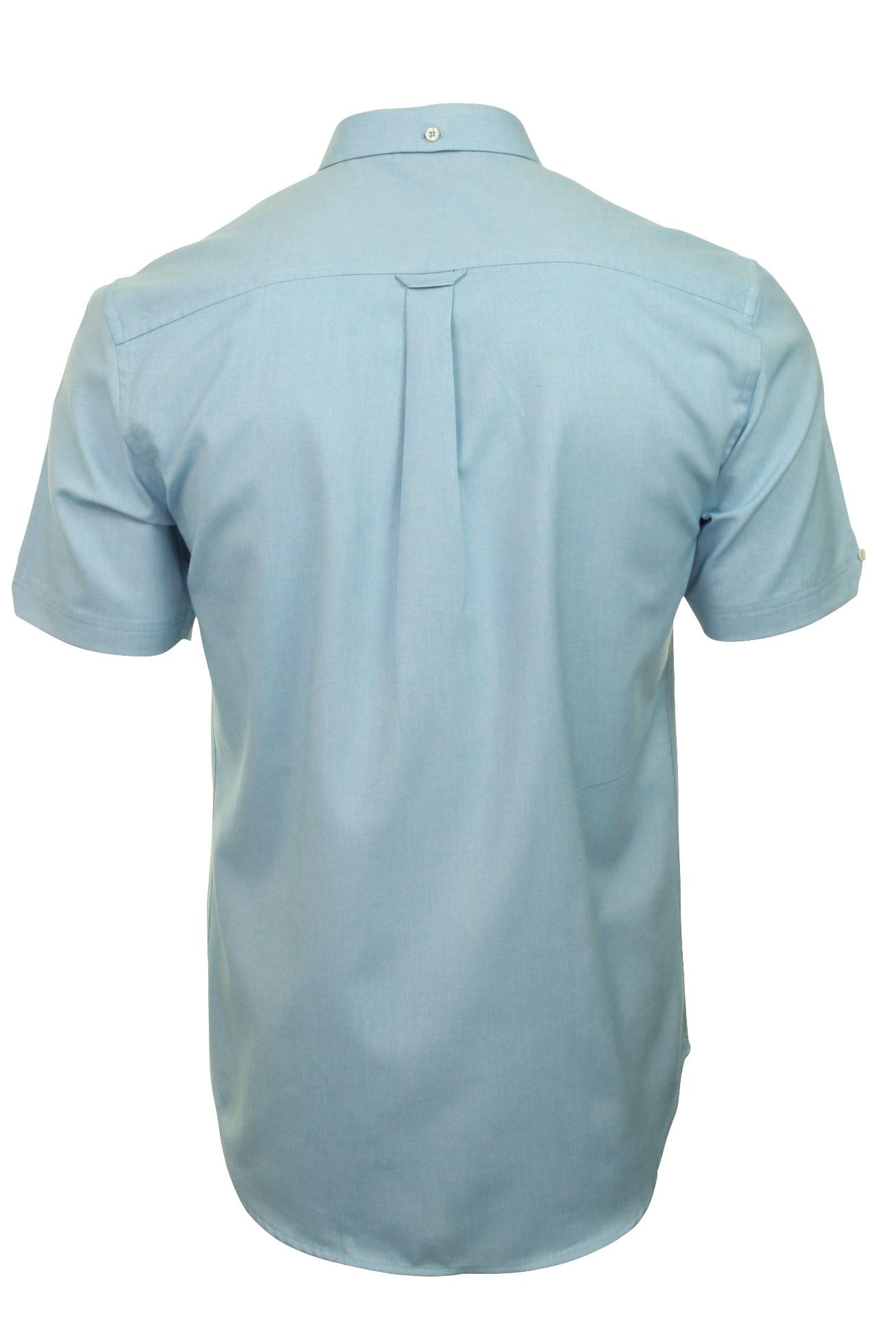 Ben-Sherman-Da-Uomo-Camicia-Oxford-Manica-Corta miniatura 23