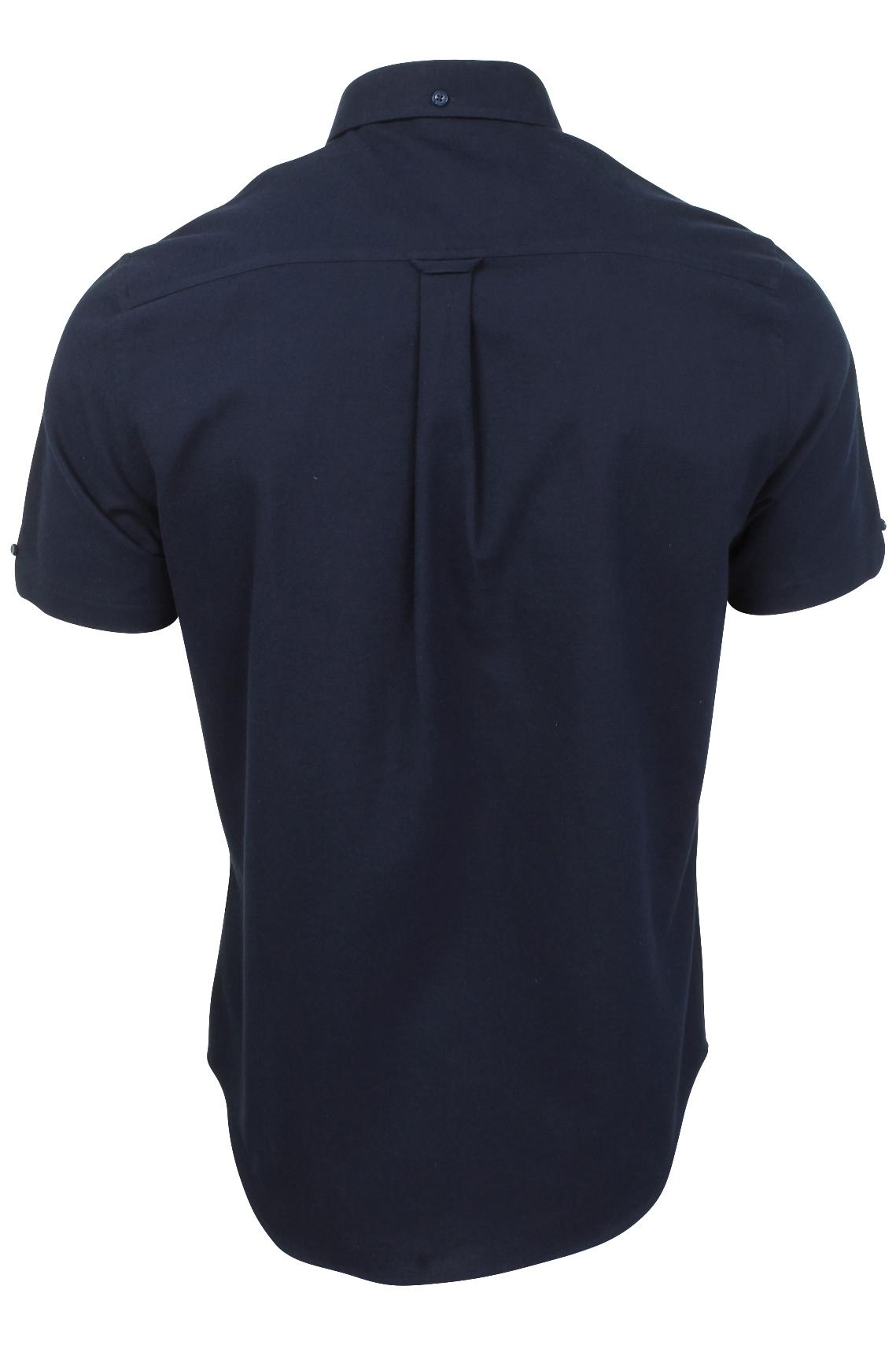 Ben-Sherman-Da-Uomo-Camicia-Oxford-Manica-Corta miniatura 29