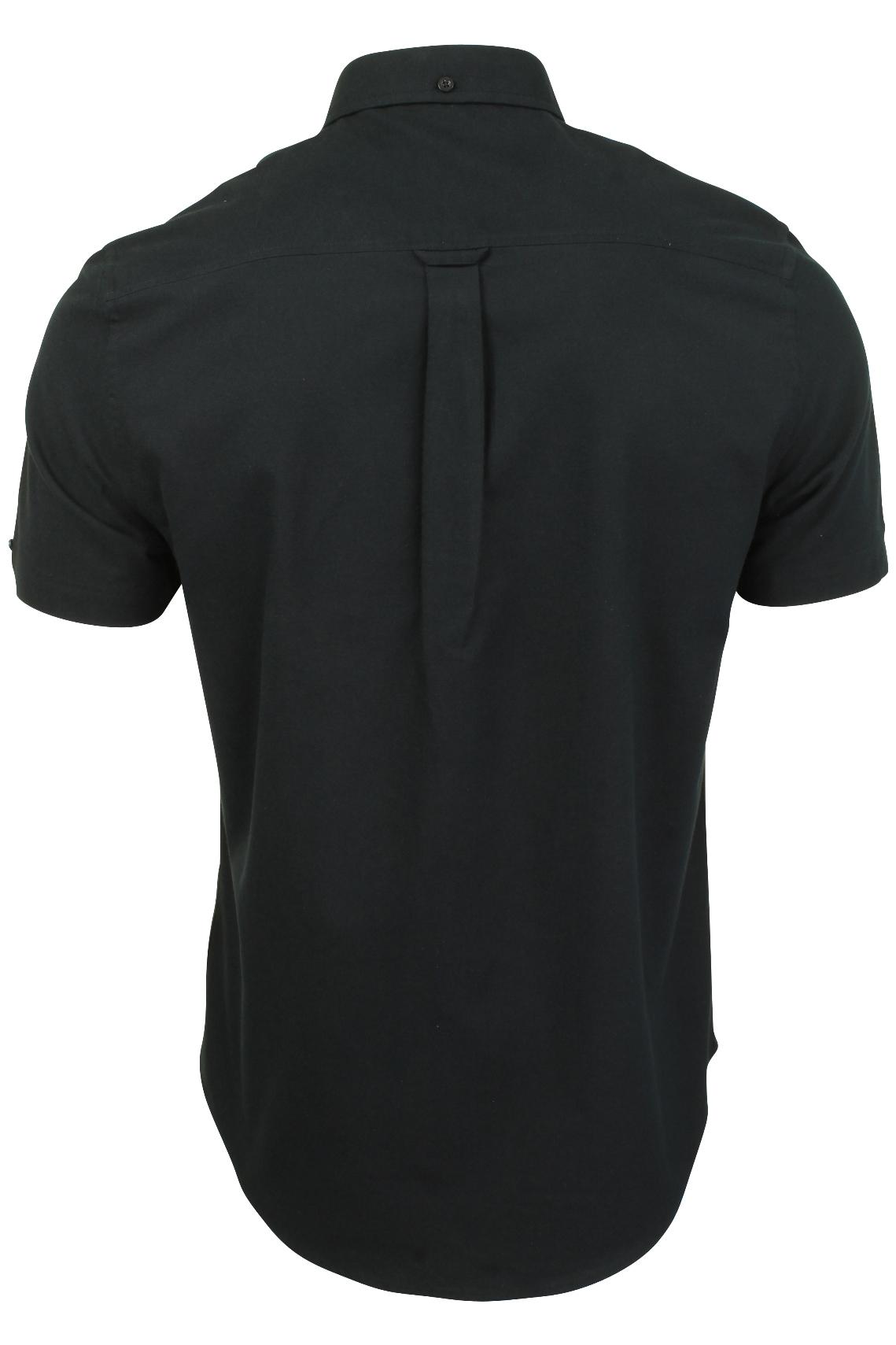 Ben-Sherman-Mens-Oxford-Shirt-Short-Sleeve thumbnail 5