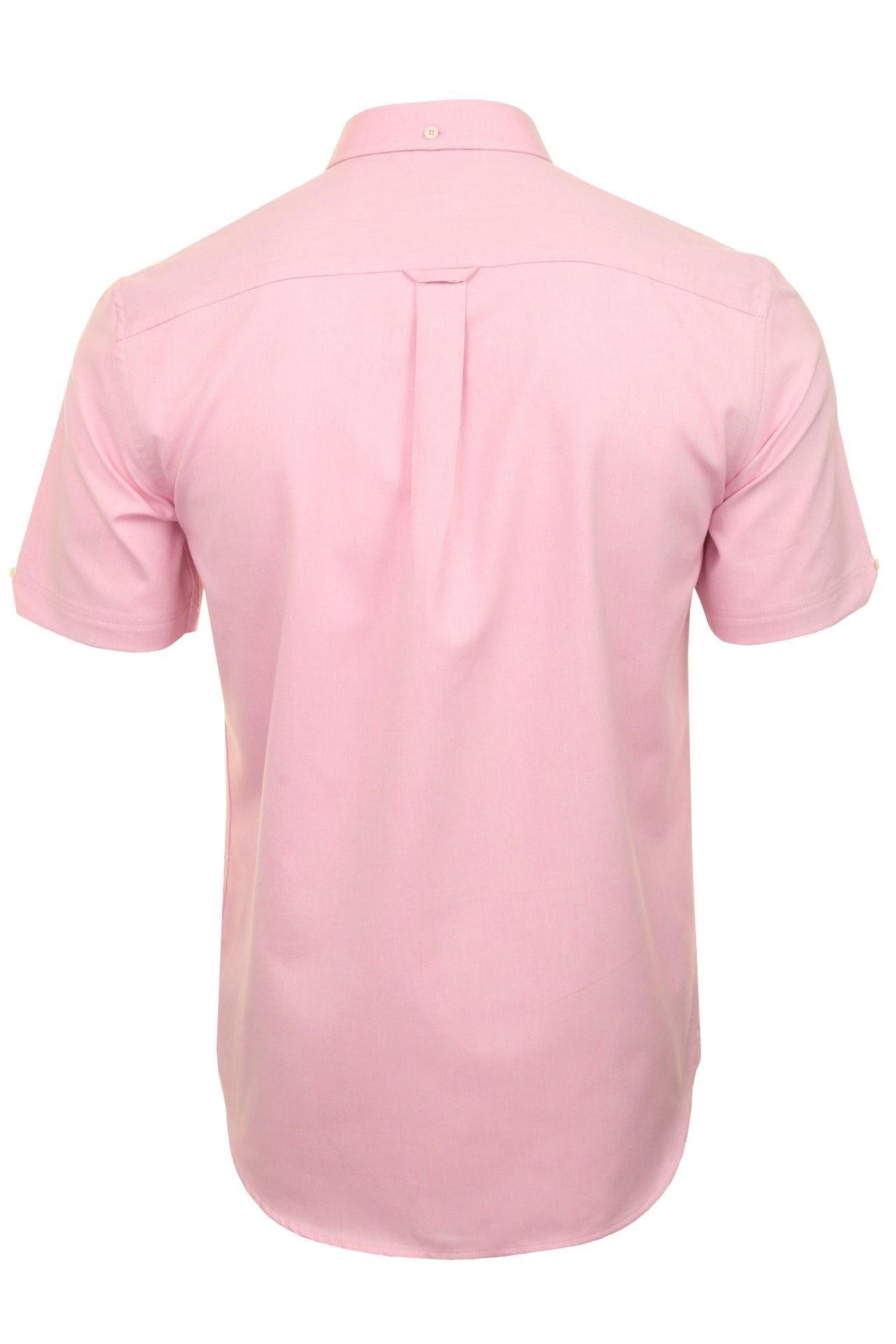 Ben-Sherman-Da-Uomo-Camicia-Oxford-Manica-Corta miniatura 32