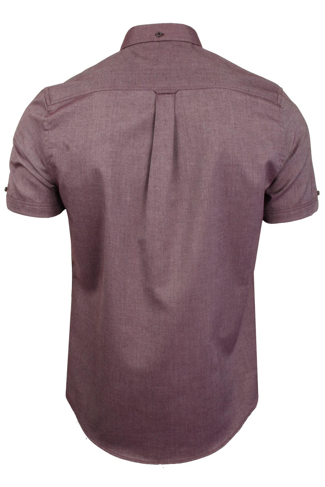 Ben-Sherman-Da-Uomo-Camicia-Oxford-Manica-Corta miniatura 51