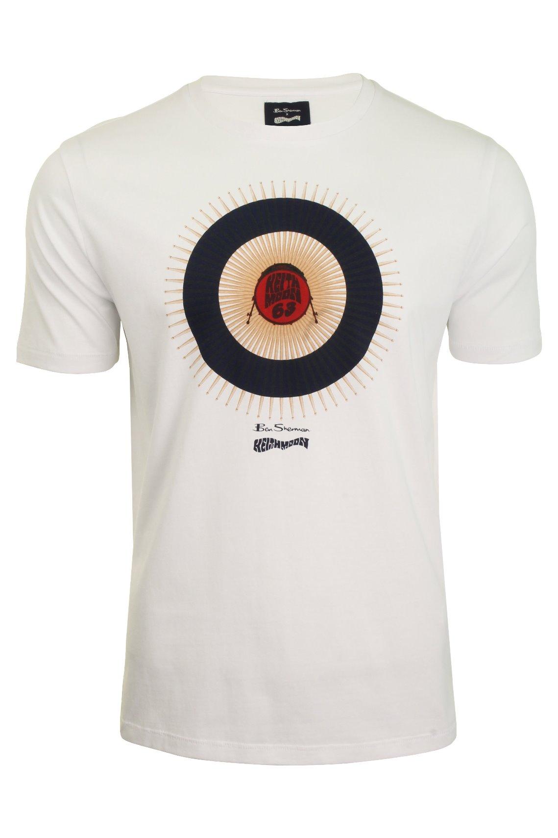 Small Ben Sherman Target T-shirt Grey
