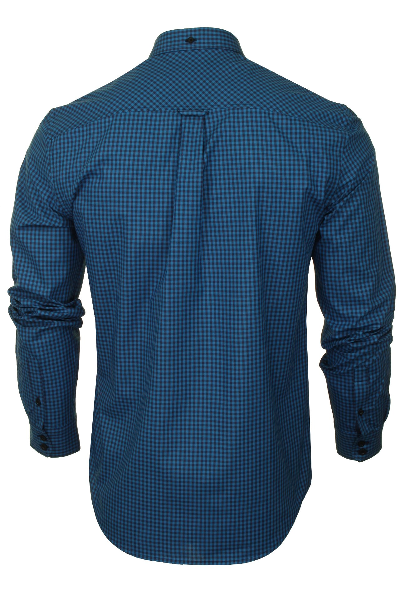 Ben-Sherman-Mens-Long-Sleeved-Gingham-Check-Shirt thumbnail 14