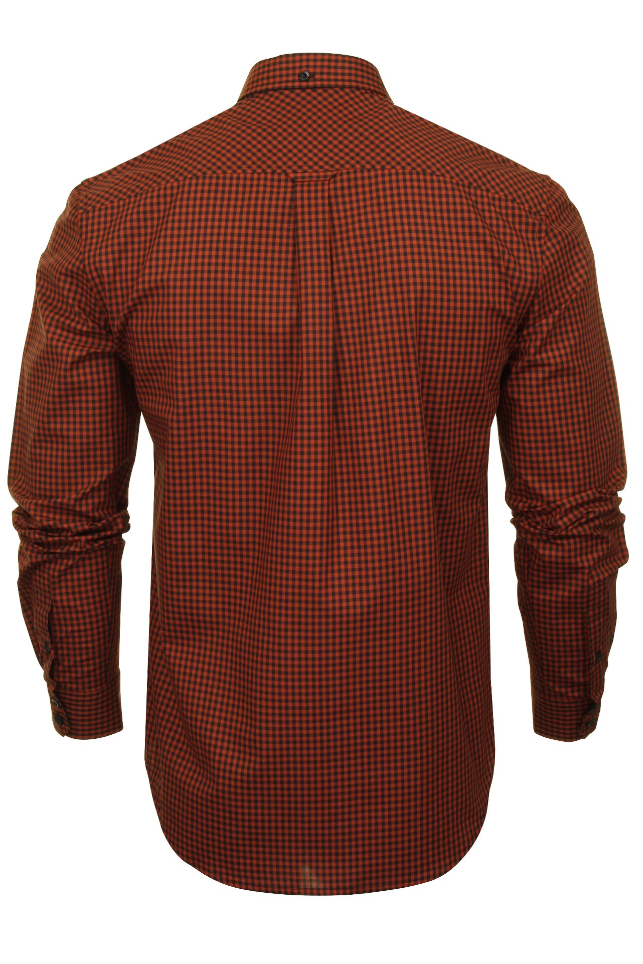 Ben-Sherman-Mens-Long-Sleeved-Gingham-Check-Shirt thumbnail 11