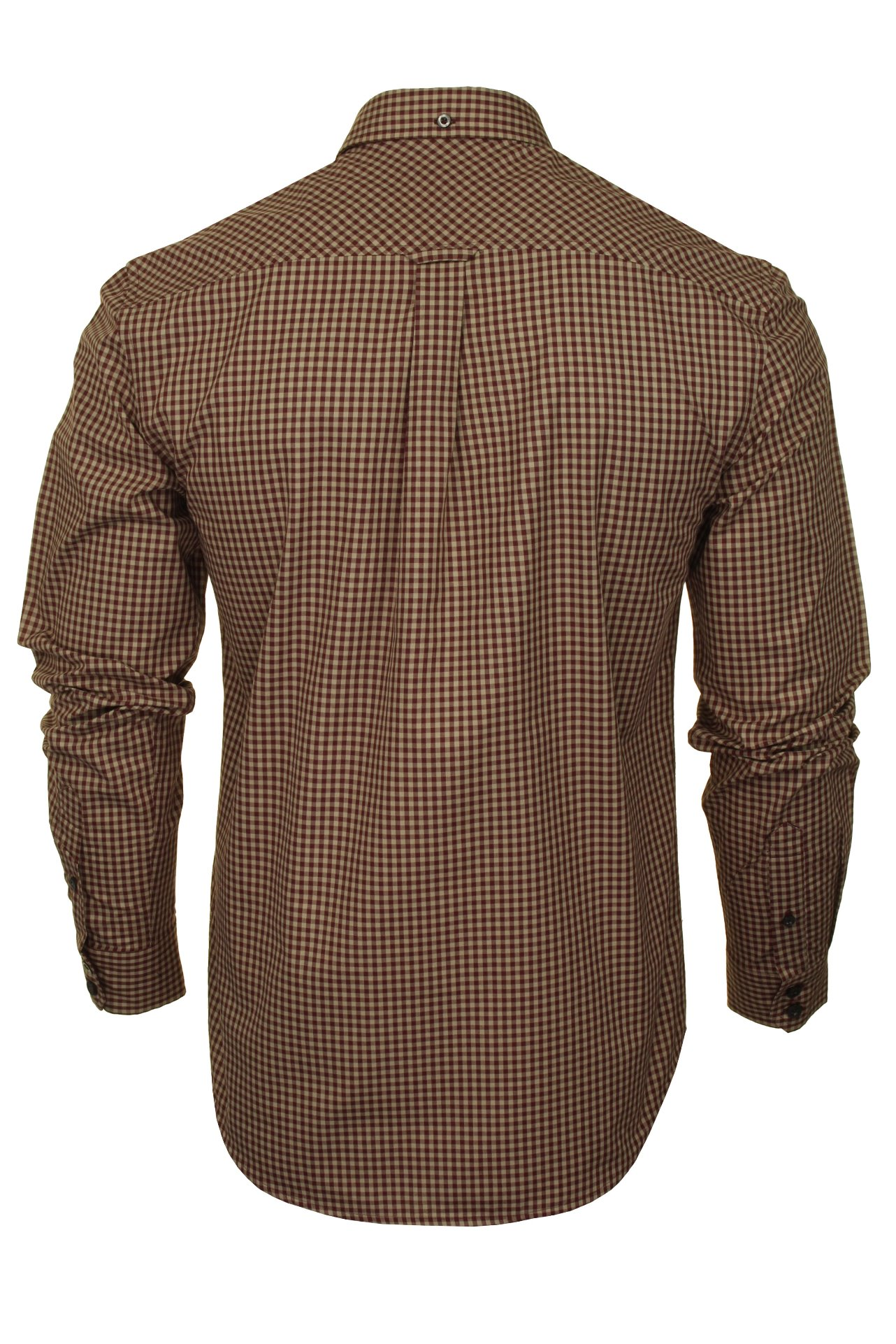 Ben-Sherman-Mens-Long-Sleeved-Gingham-Check-Shirt thumbnail 8